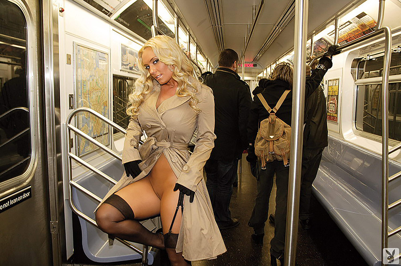 Pussy subway