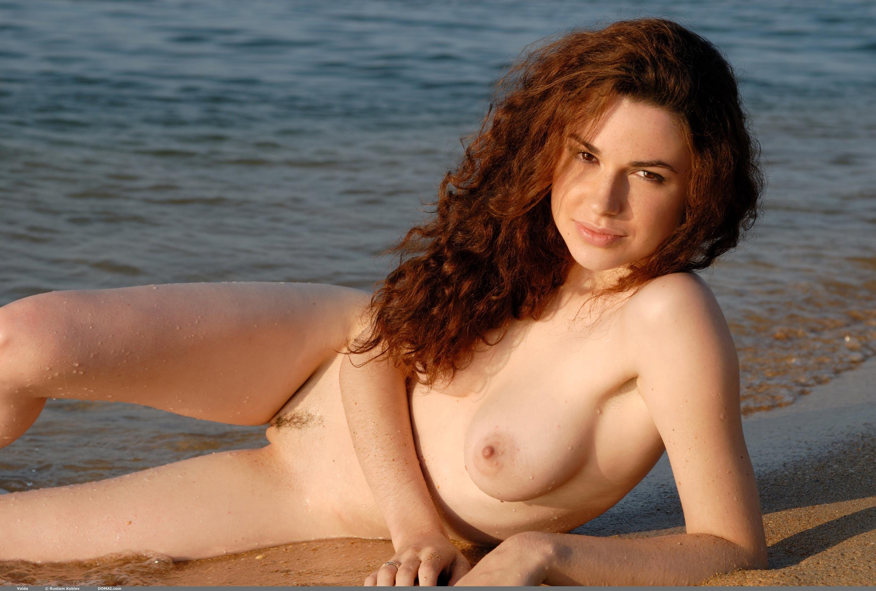 Puffy nipple beach girls consider, that