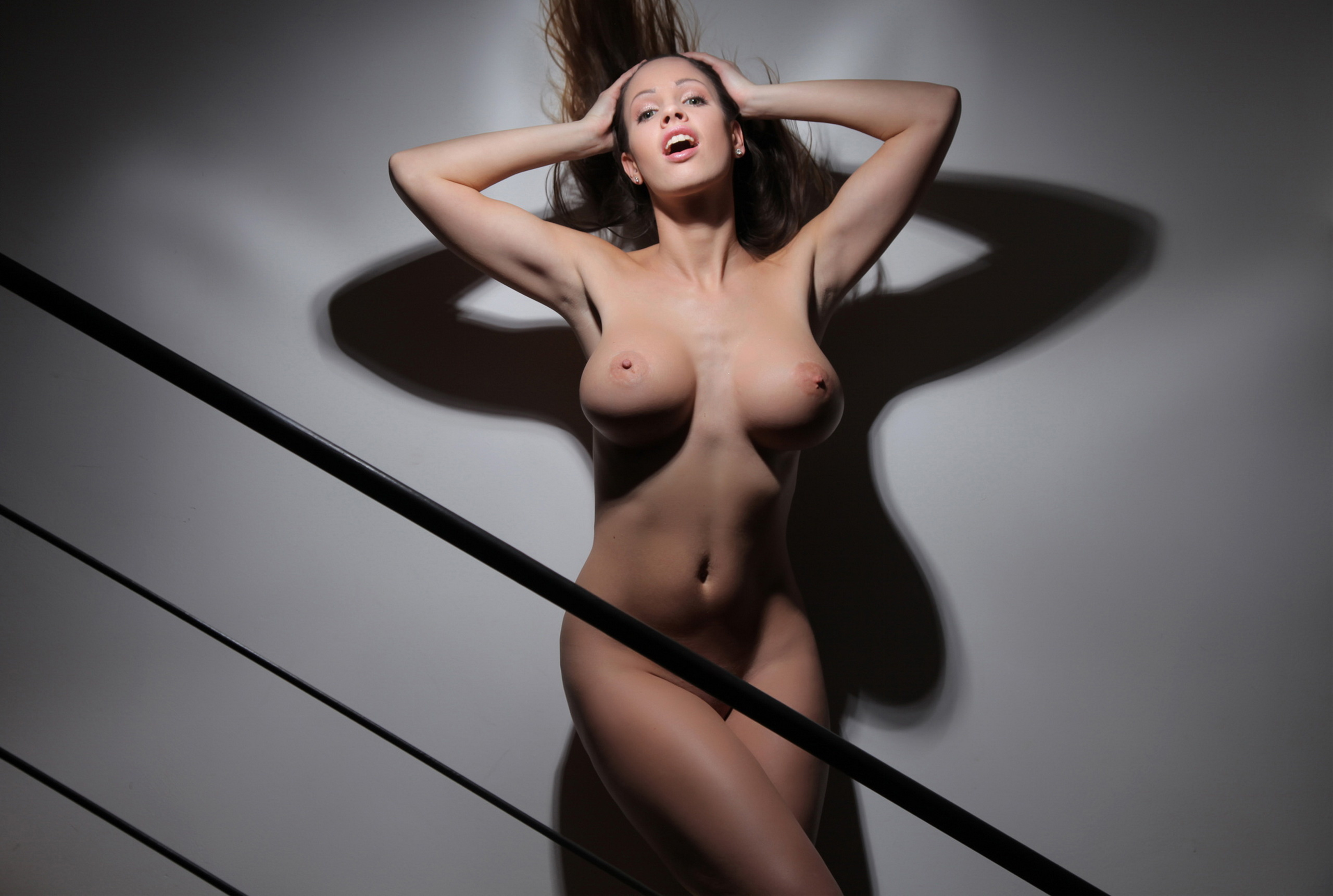 Wallpaper lucia javorcekova, brunette, naked, big boobs ...