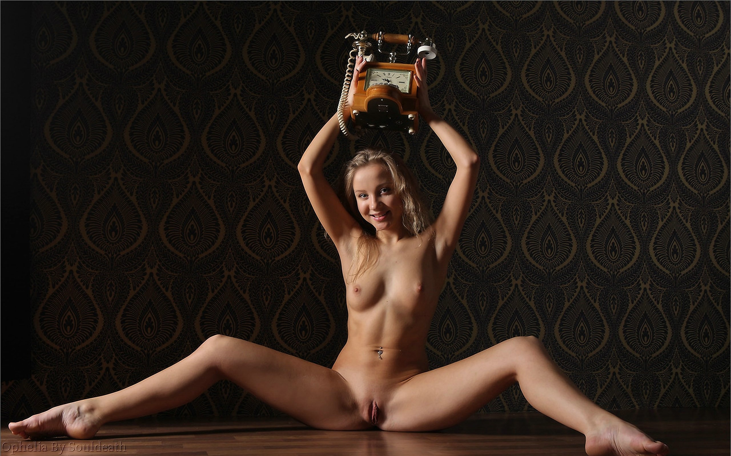 Wallpaper Model, Ophelia, Teen, Sany Blond, Blue Eyes, Slinder, Small Tits, Natural, Beautiful -5192