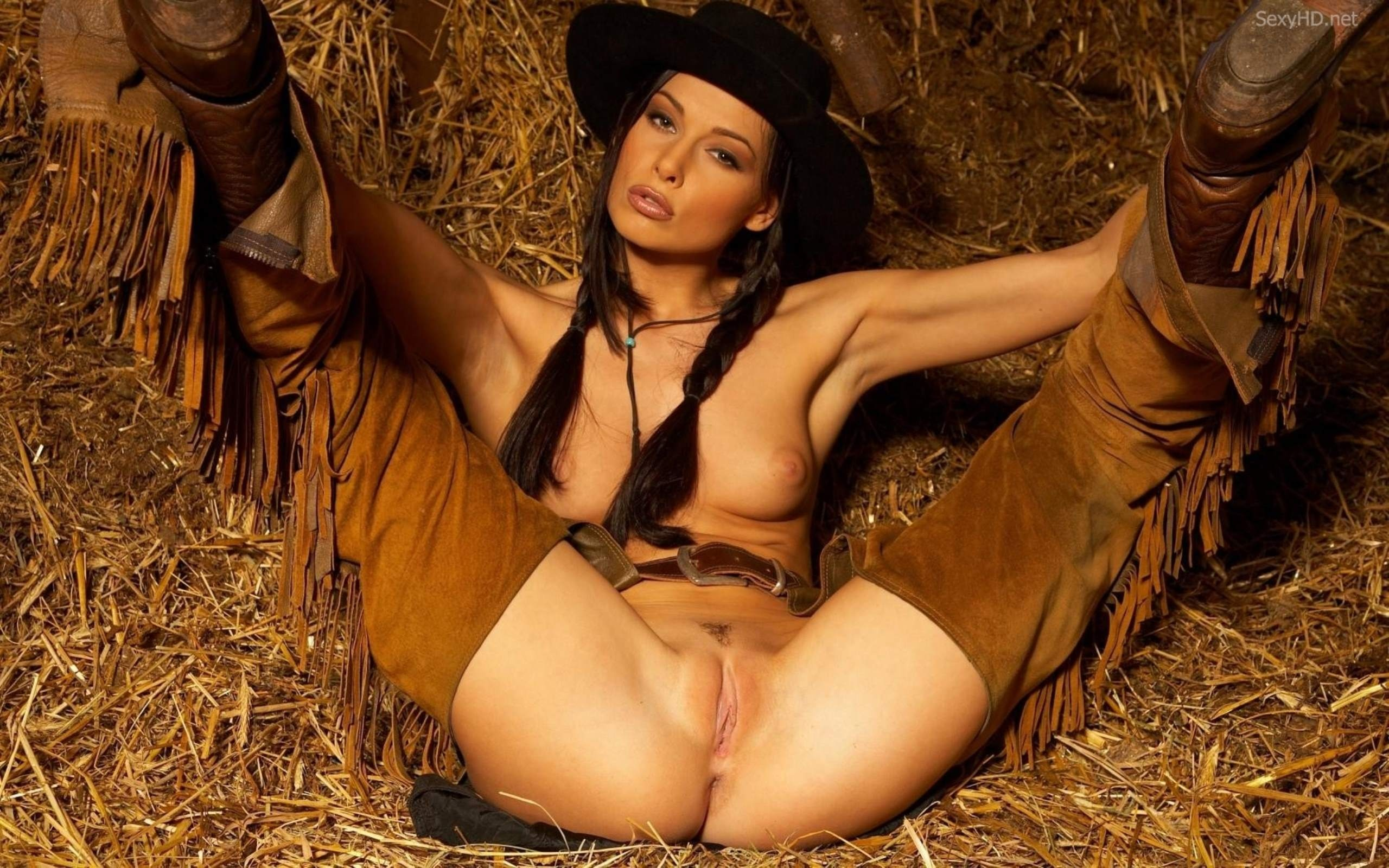 Hot nude cowgirl naked