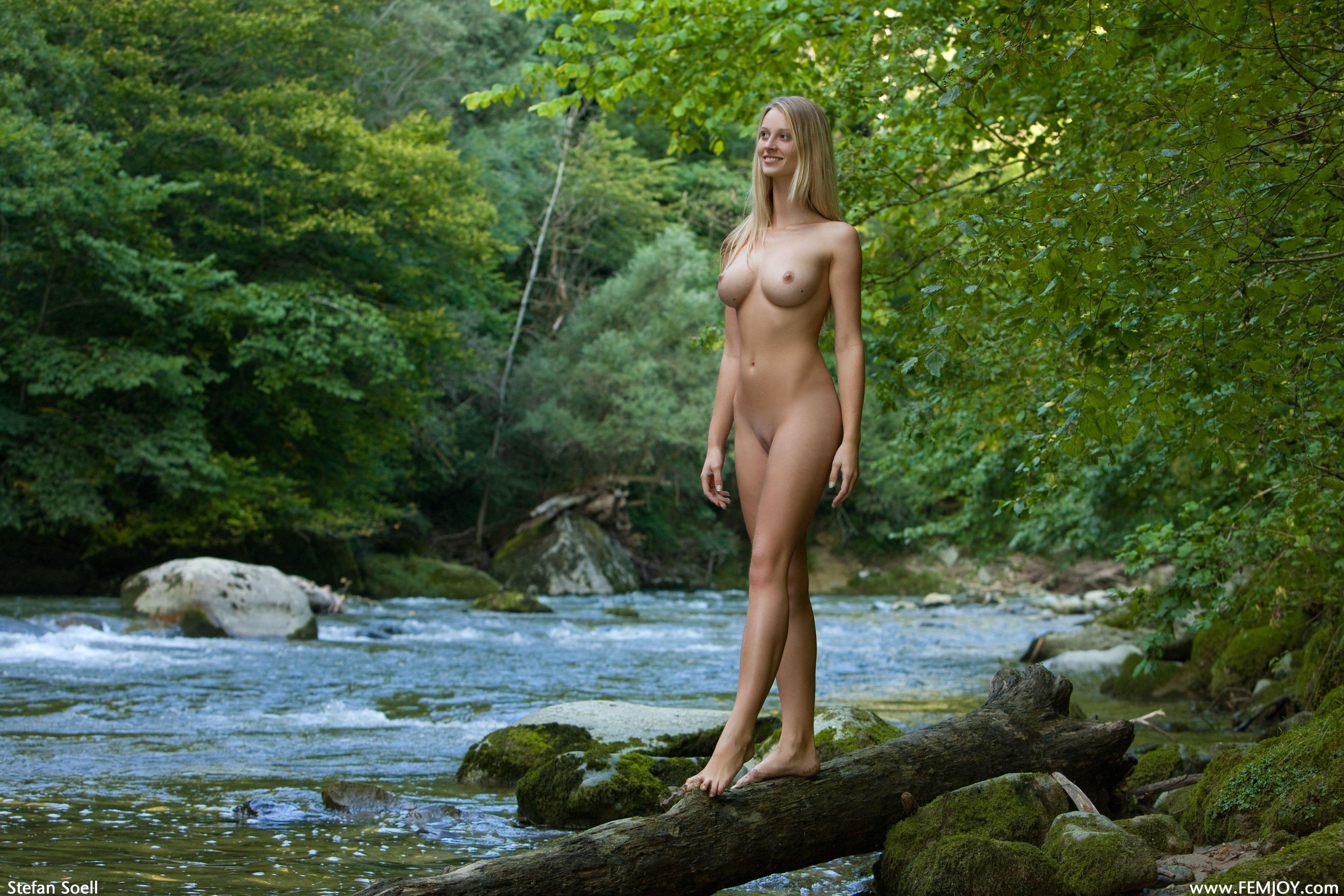 Wallpaper Carisha, Blonde, Sexy Girl, Nude, Naked, Legs -2280