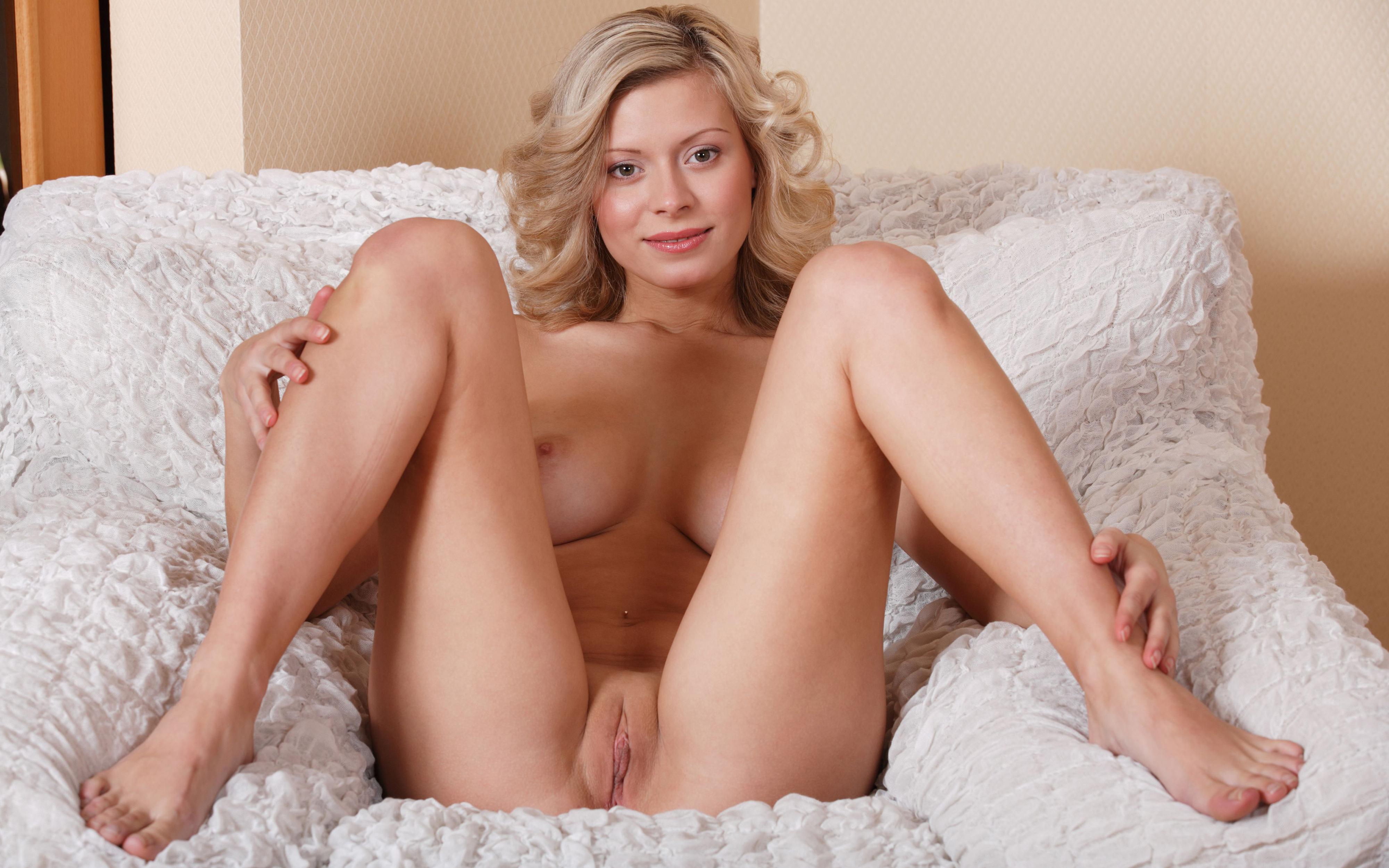 Hot horny naked woman