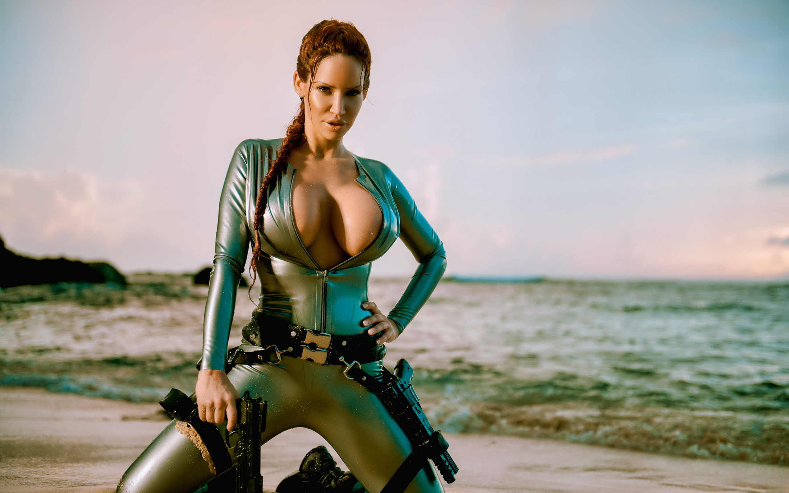 Sexy latex lara croft erotic photos