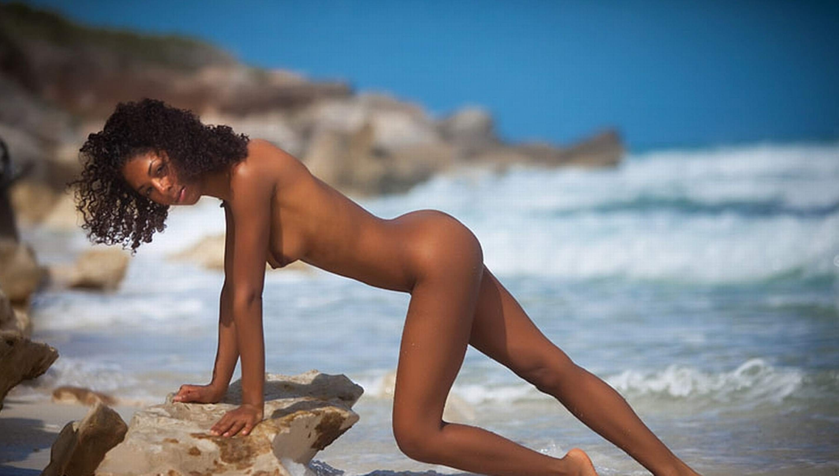 Video of nude caribbean girl johansson