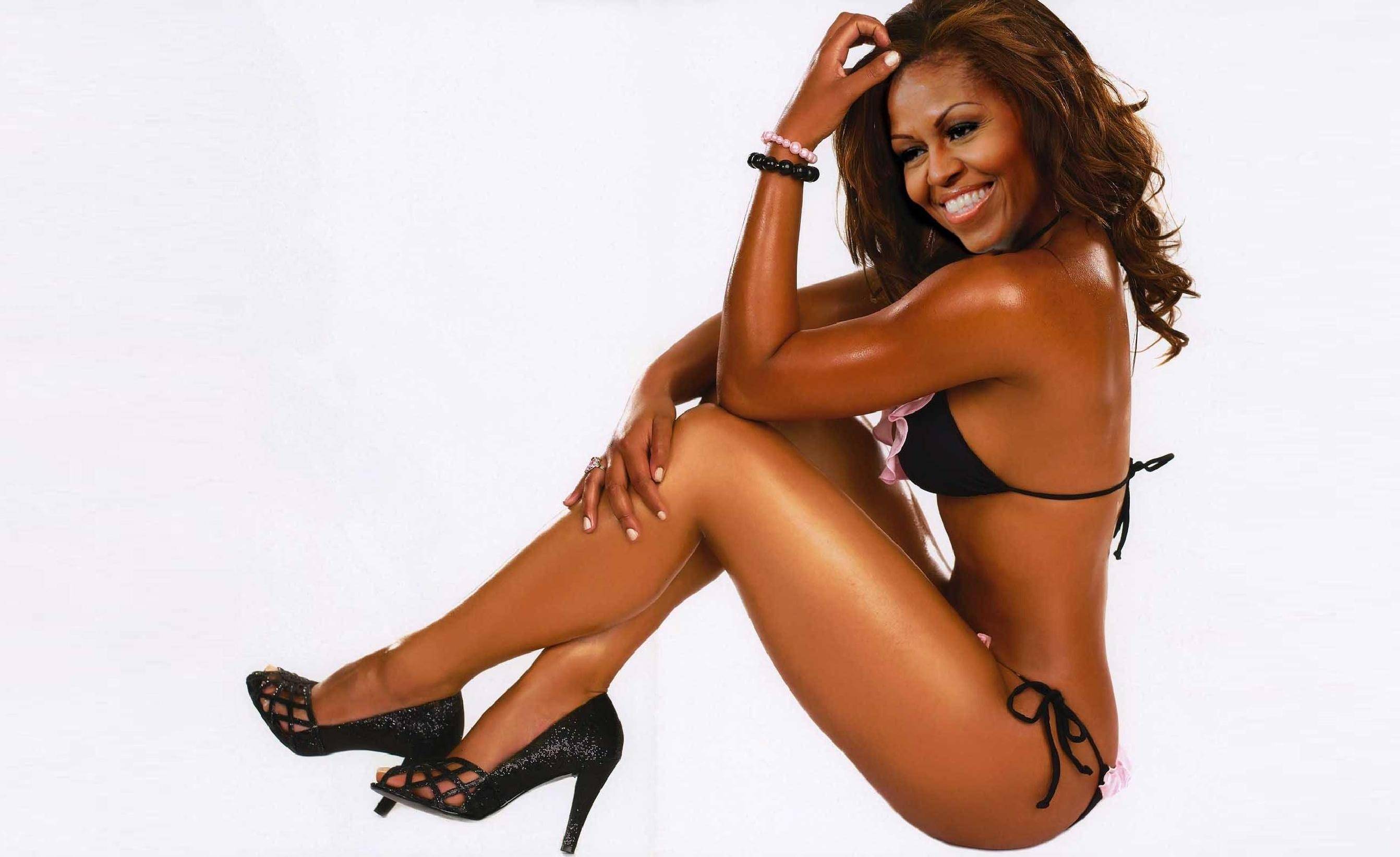 Have Michelle obama in soft porn valuable