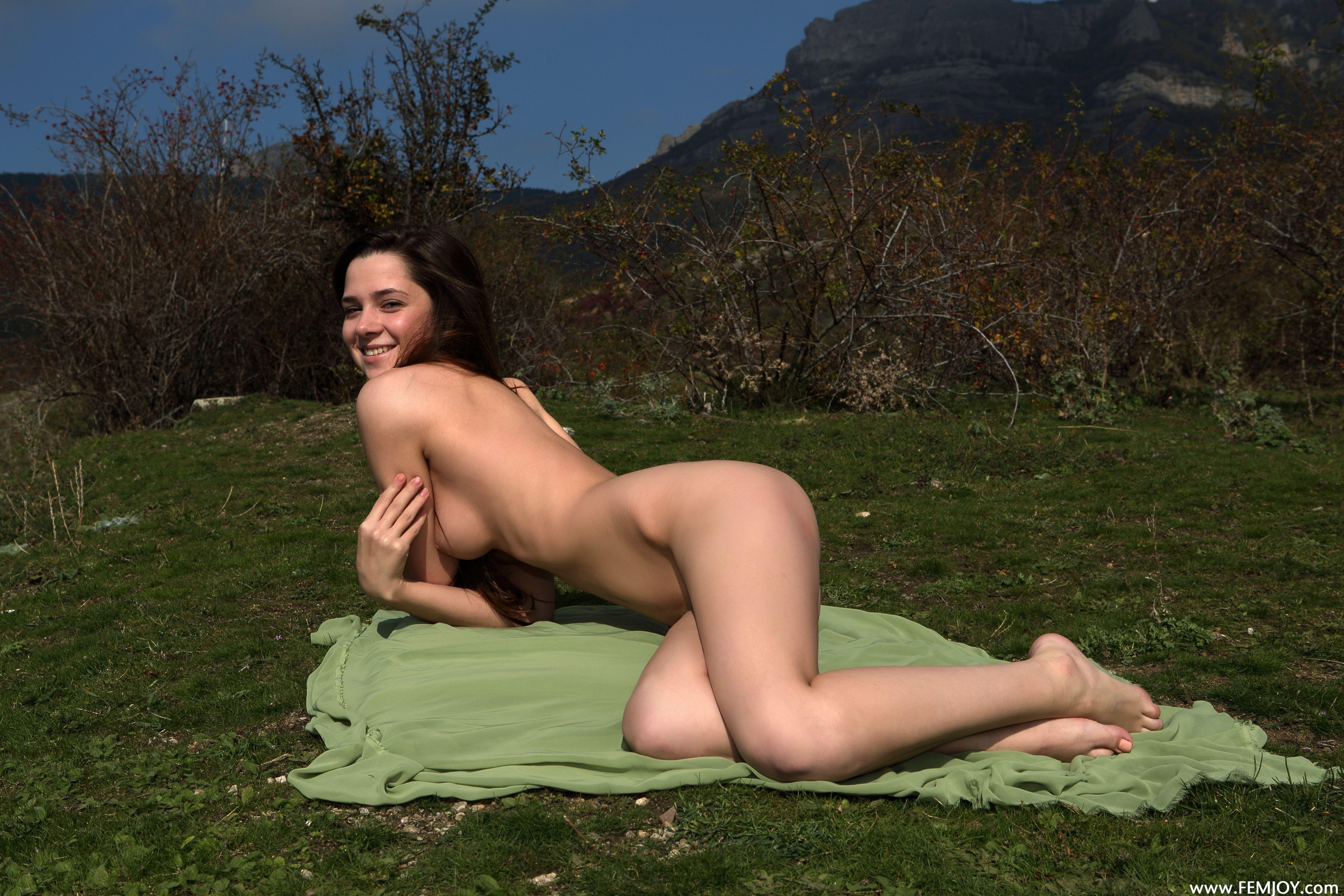 Download Photo 5000X3333, Eva U, Brunette, Sexy Girl, Nude -6304