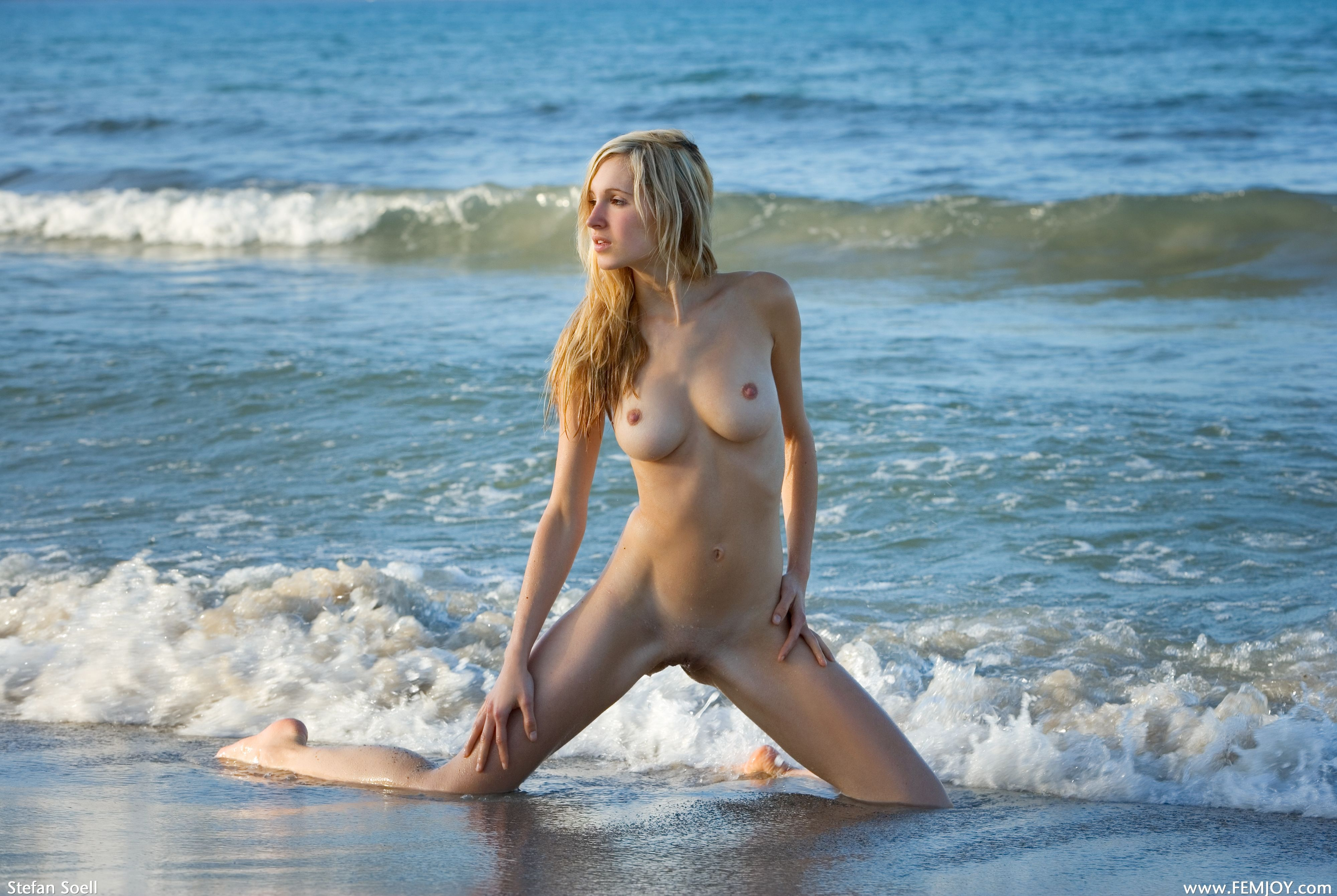 German girls swimming nude