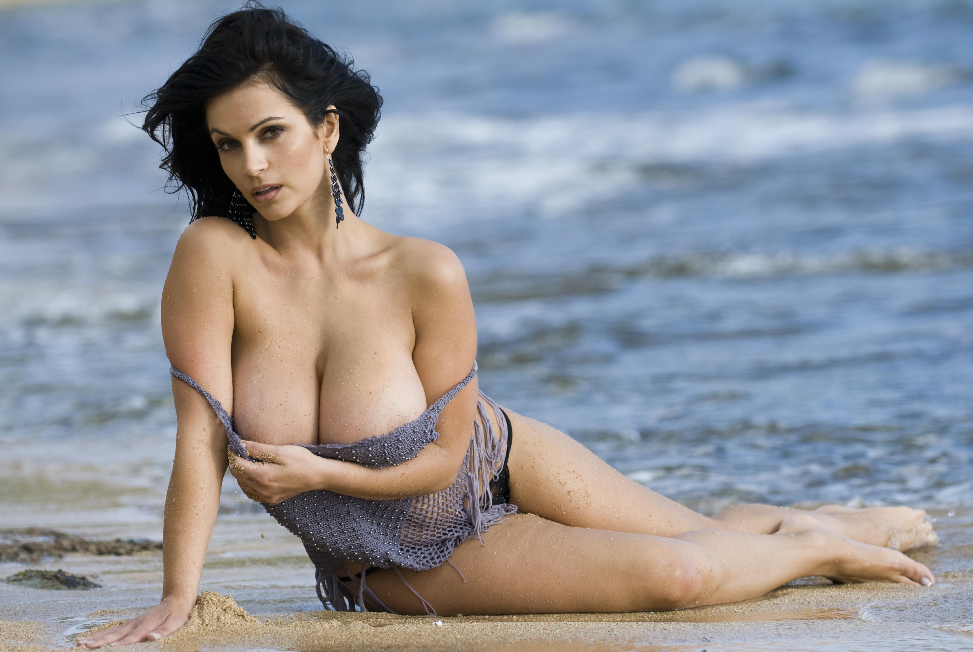 Wallpaper Denise Milani, Model, Brunette, Amazing, Sexy -9549