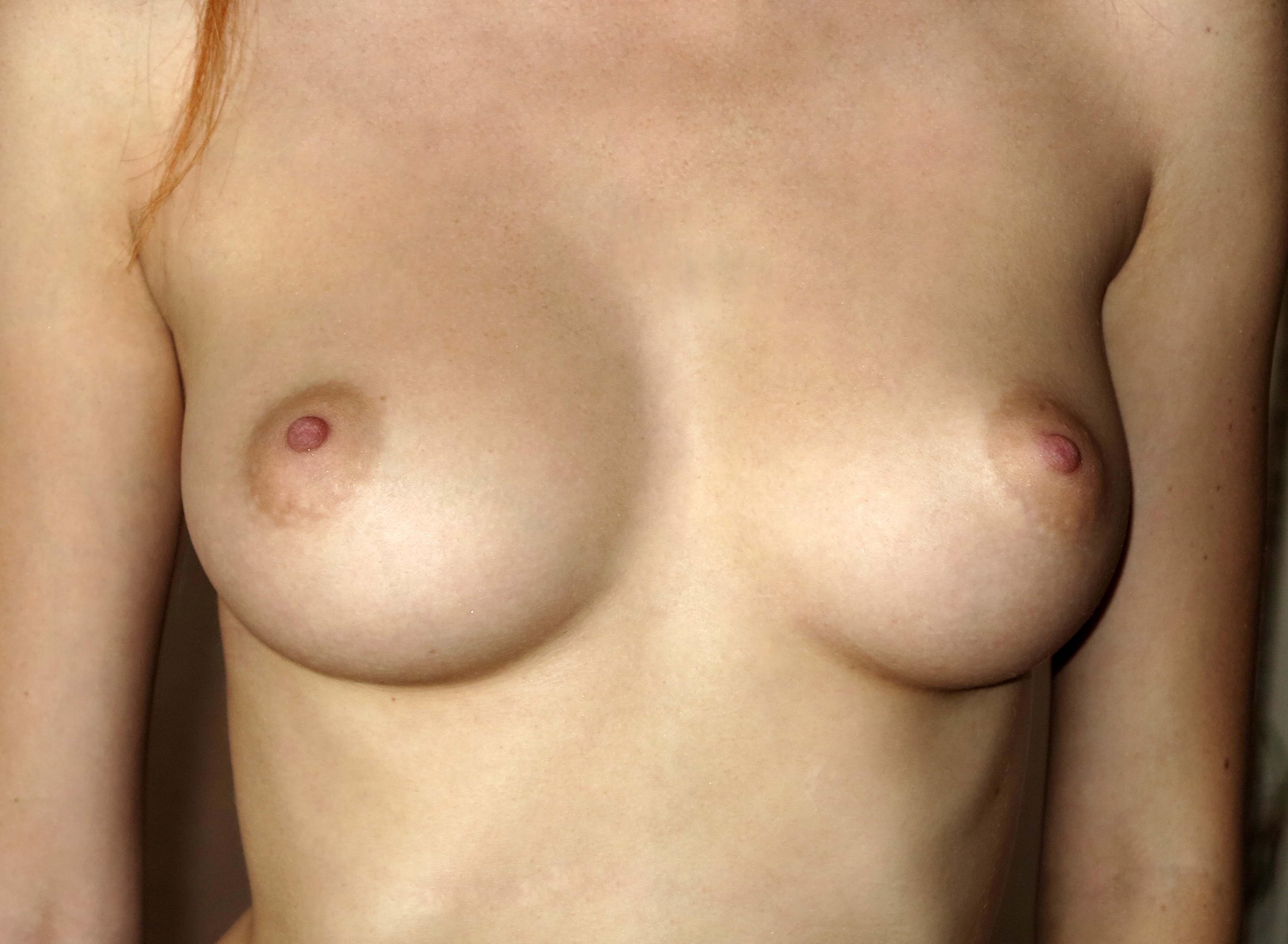 Nude redhead puffy nipples