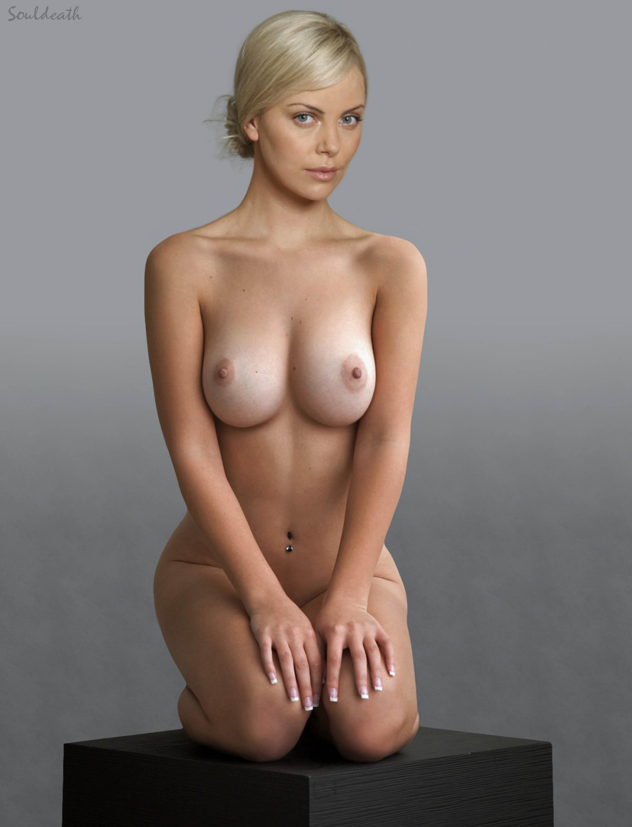 Порно фото с шарлиз терон