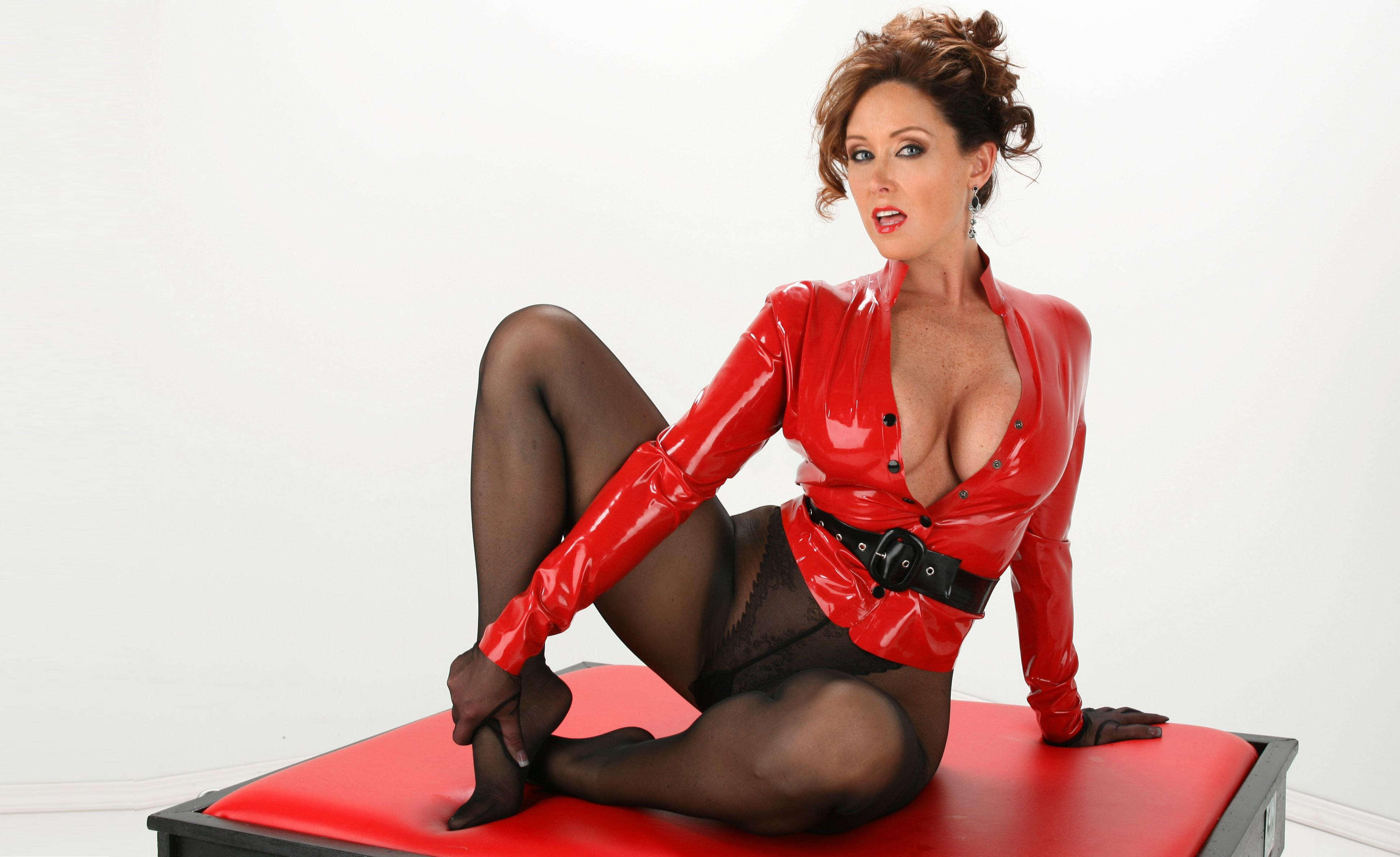 Something sexy latex lingerie girls pity