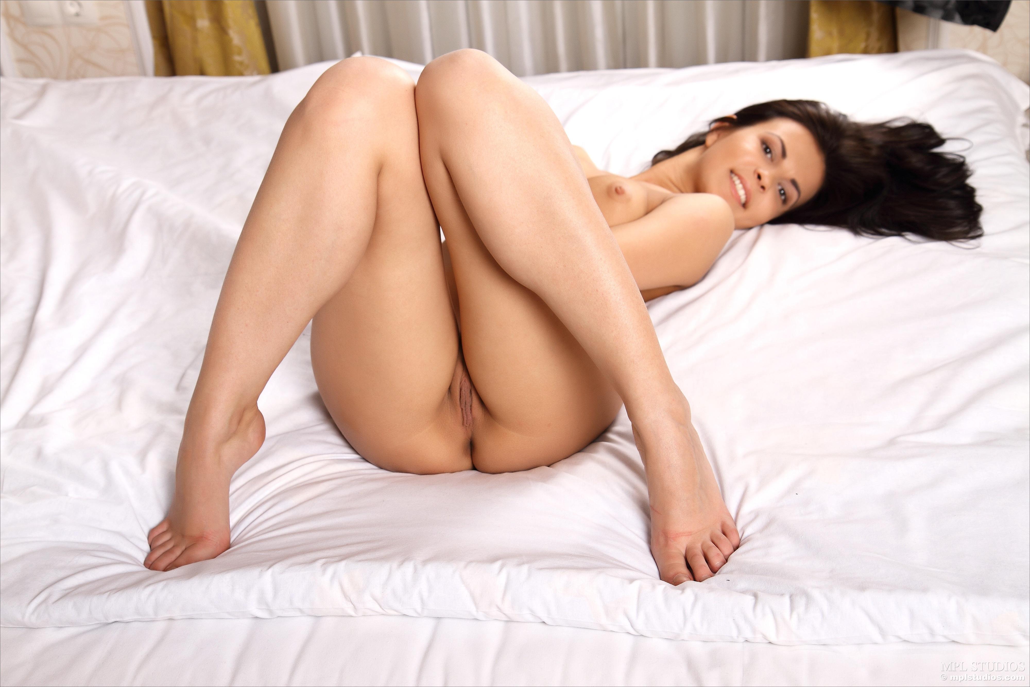 Wallpaper Zelda B, Brunette, Sexy Girl, Nude, Naked, Skinny, Delicious -7447