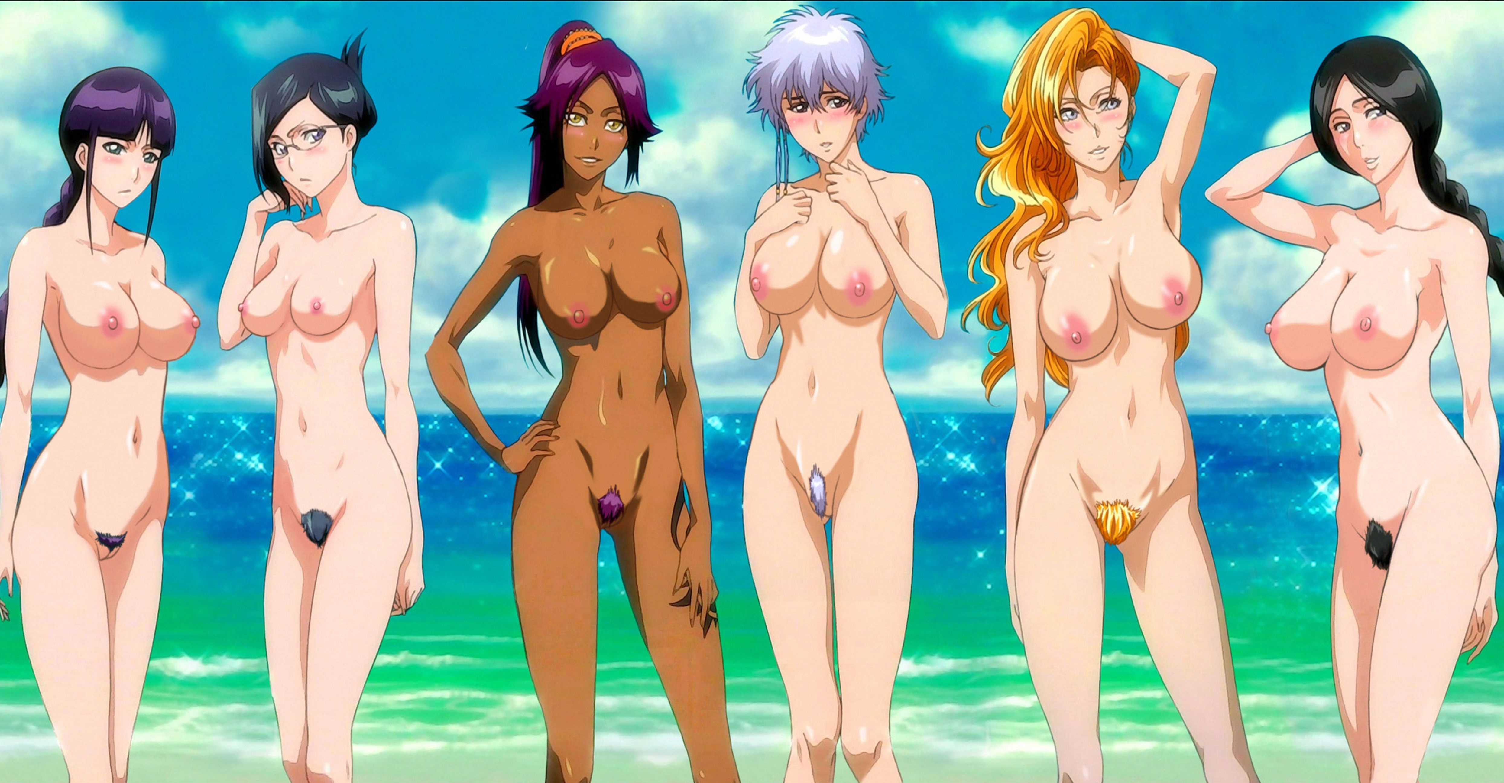 bleach characters naked pics
