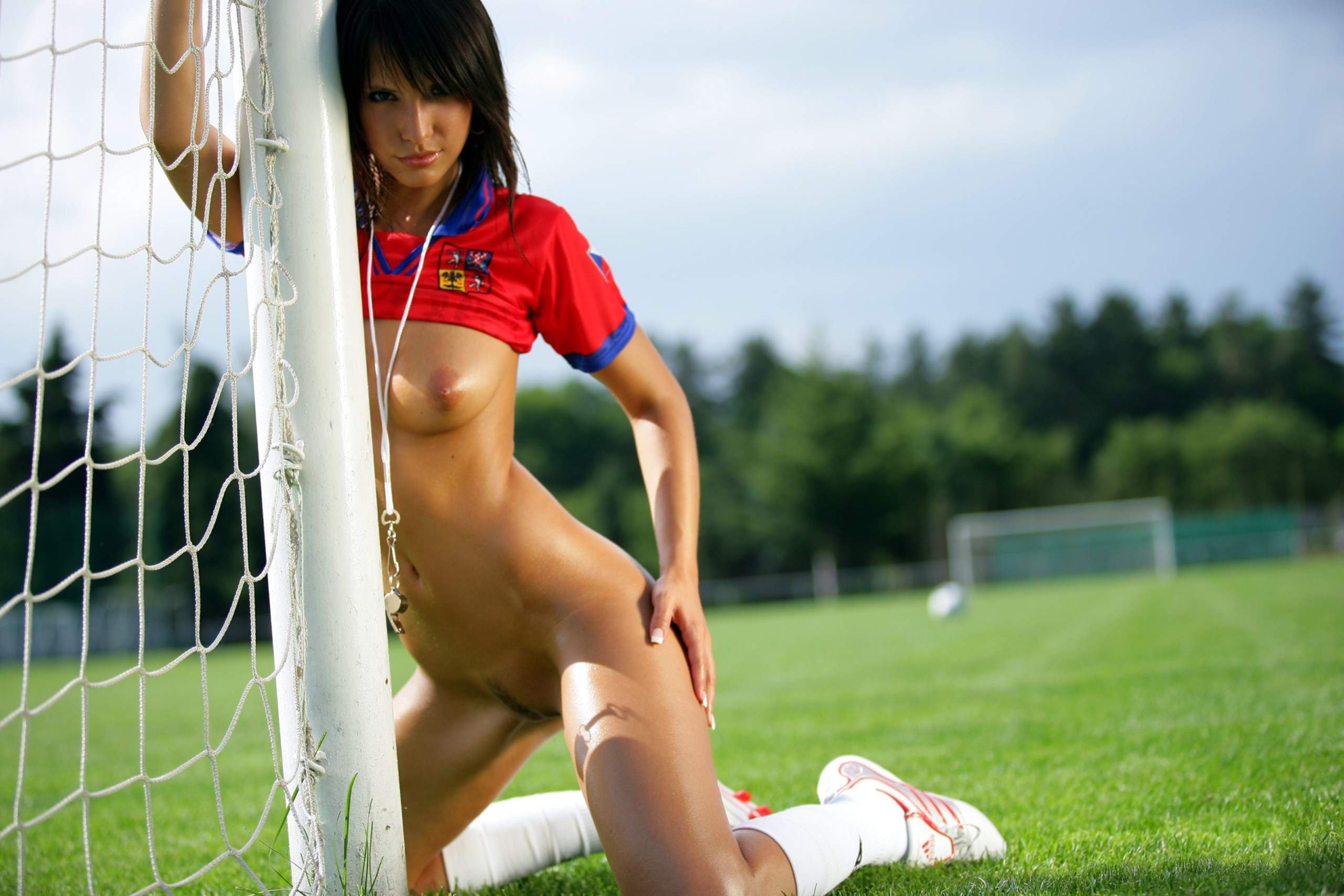 Nude girl football videos