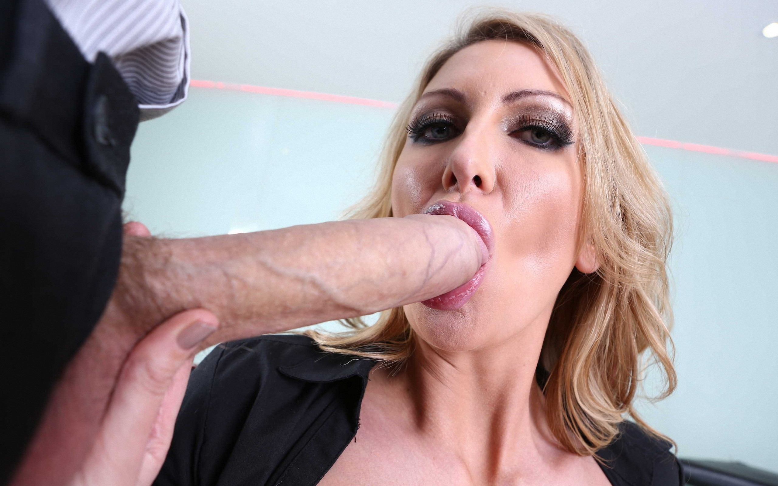 wallpaper leigh darby, pornstar, blonde, blowjob, sucking, suck