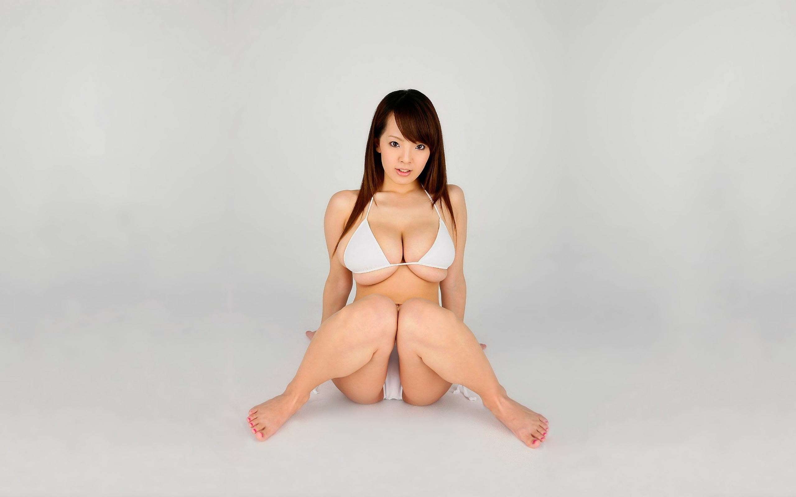 Wallpaper Hitomi Tanaka, Big Boobs, Huge Tits, Brunette -7547