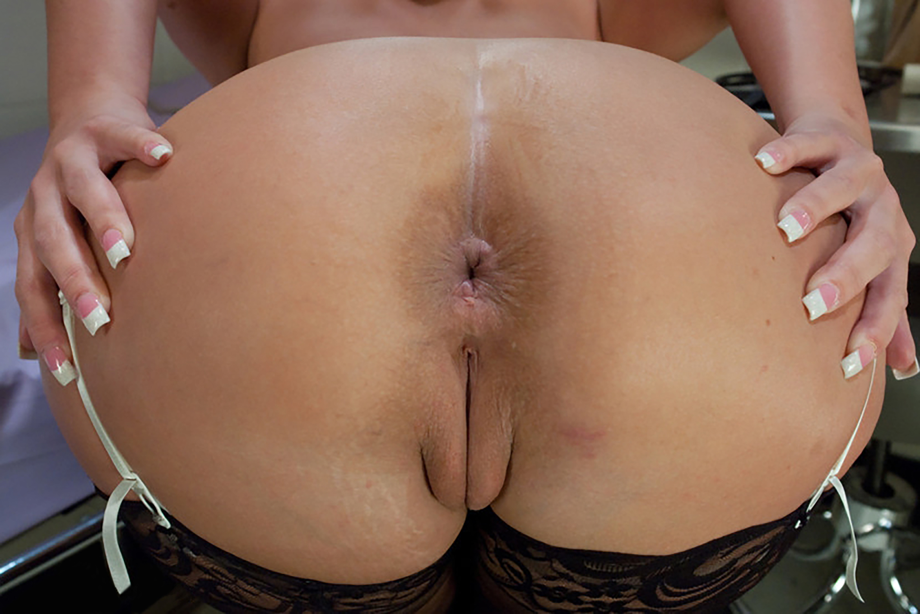 Hole in big ass beauty