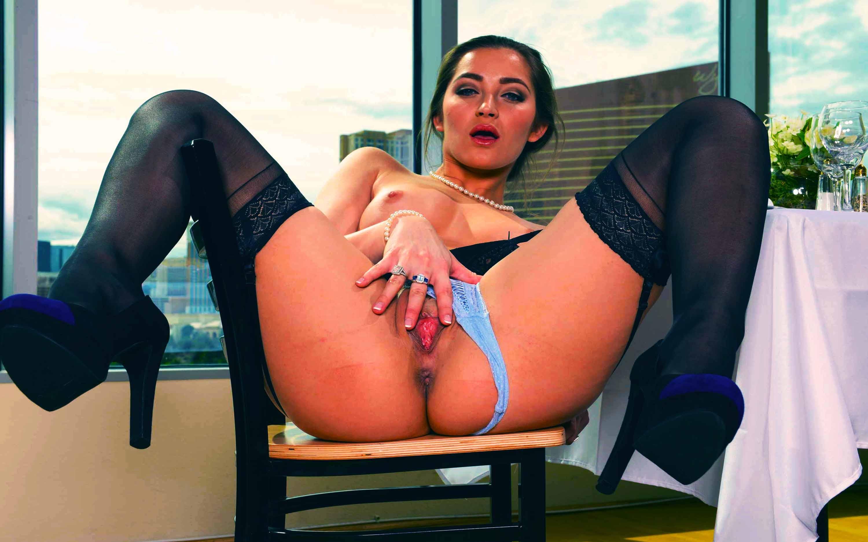 Wallpaper Dani Daniels, Brunette, Sexy Girl, Nude, Naked -6542