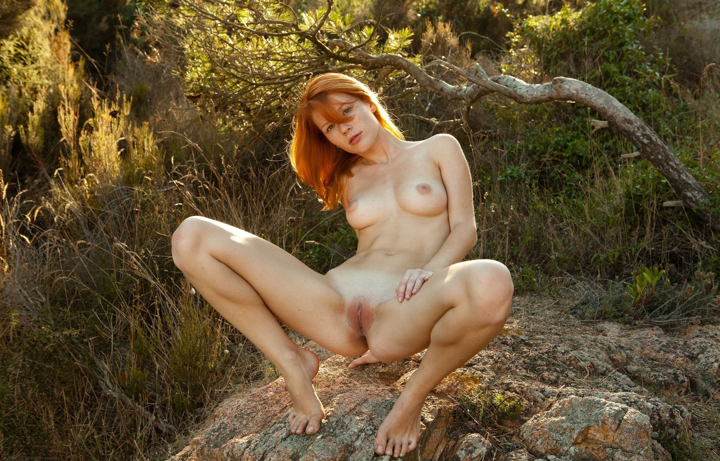 image All natural shaved head model riley nixon takes creampie in her hairy pussy