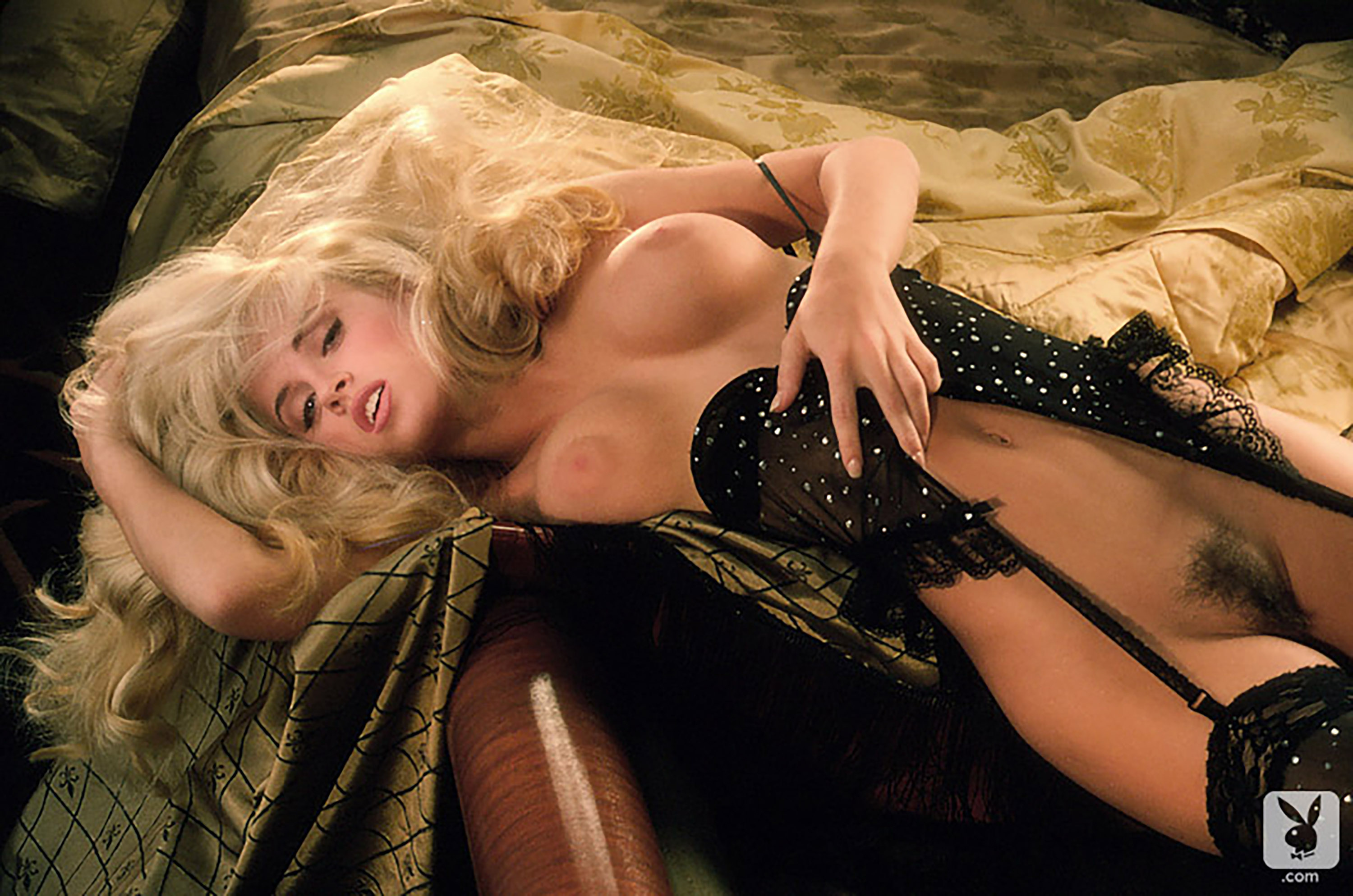 Jenny Mccarthy Porn Video wallpaper jenny mccarthy, playboy, blonde, stockings, blonde