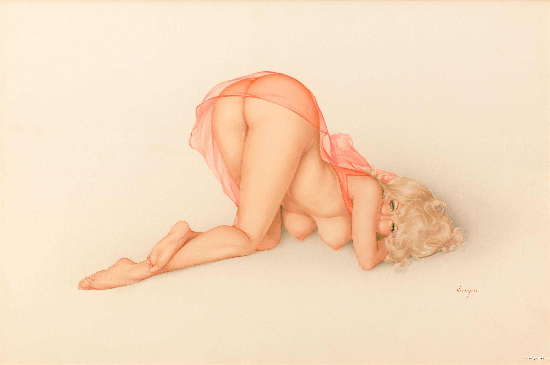Pin up erotic art