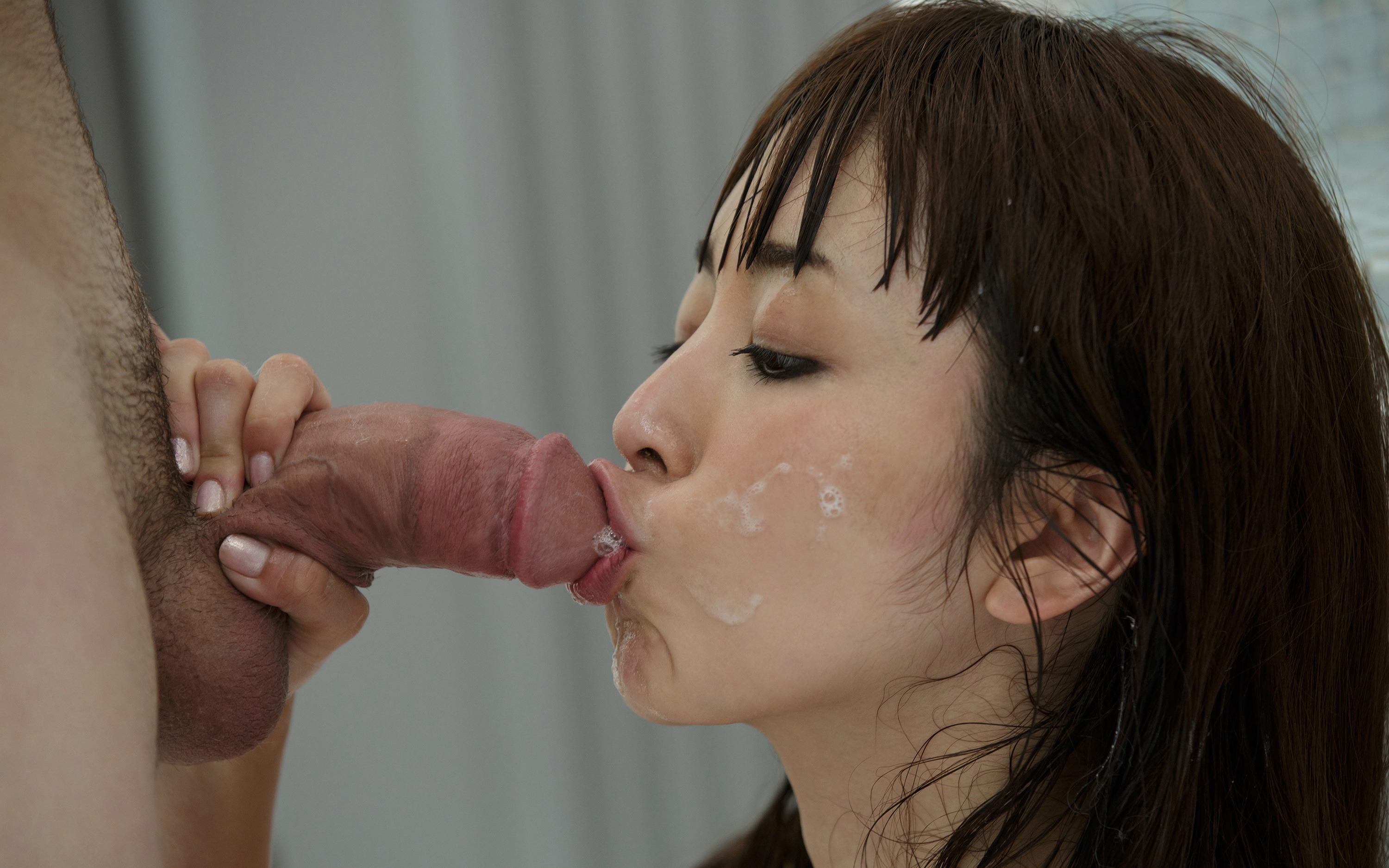 hot asian sucking