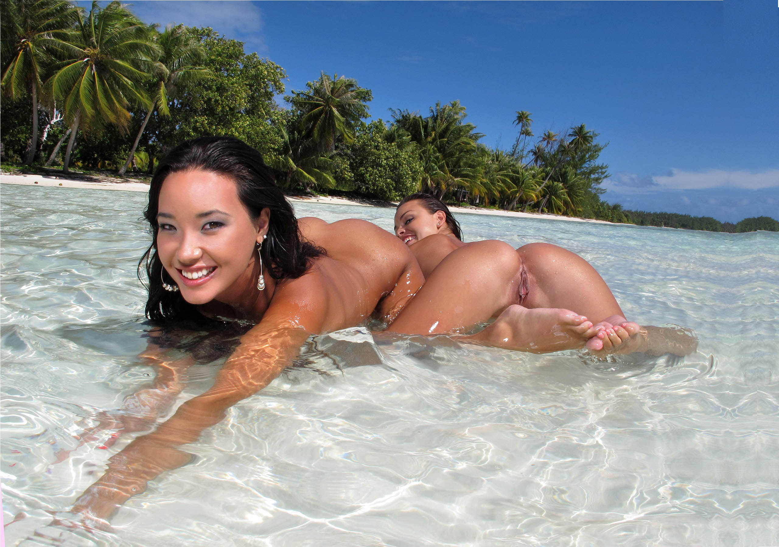Interesting Polynesian nude beaches consider, that