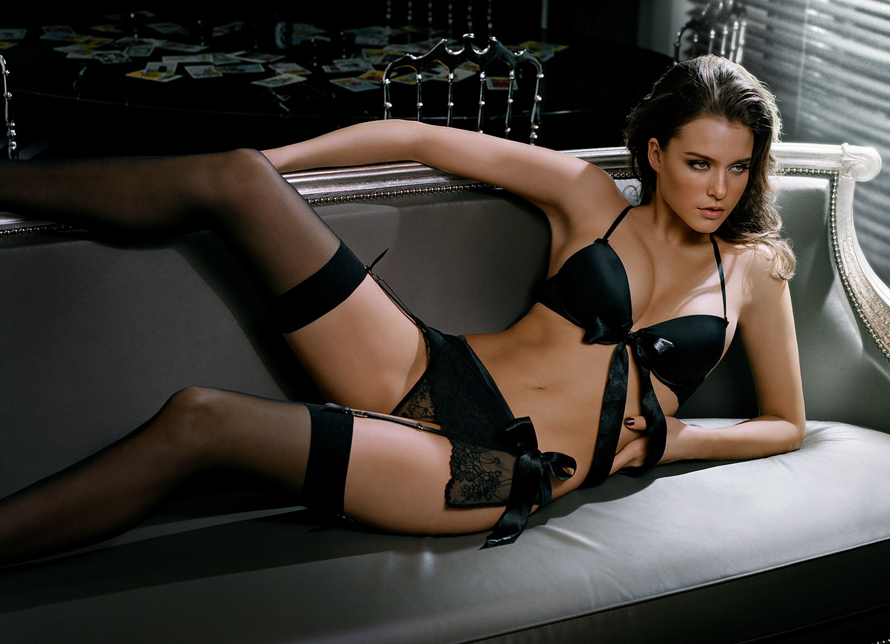Sex Product For Women Sexy Lingerie Black Lace Stockings