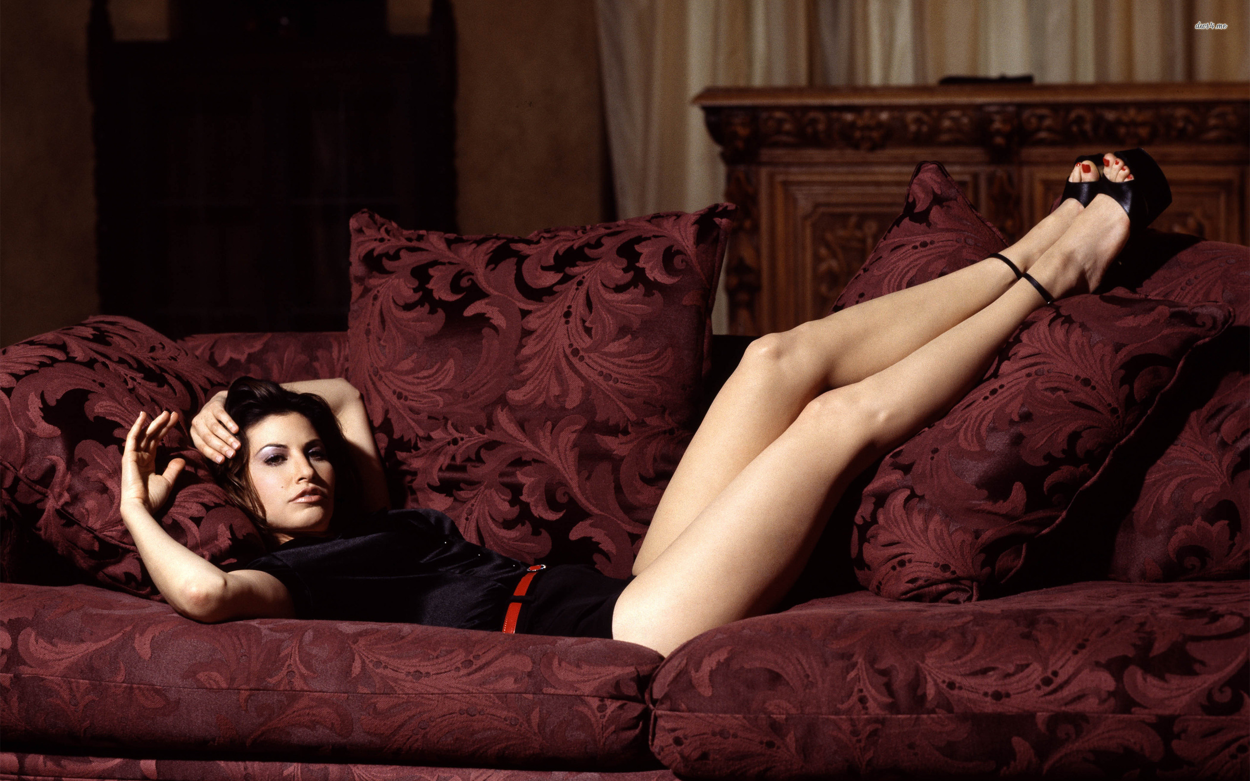 Wallpaper Gina Gershon, American, Brunette, Celebrity ...