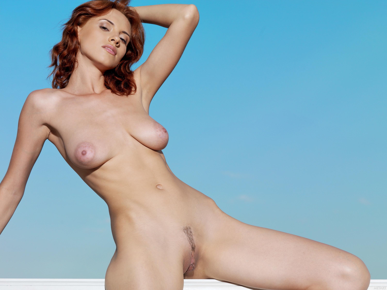 Wallpaper Leka C, Red, Model, Russian, Breast, Lingerie -3342