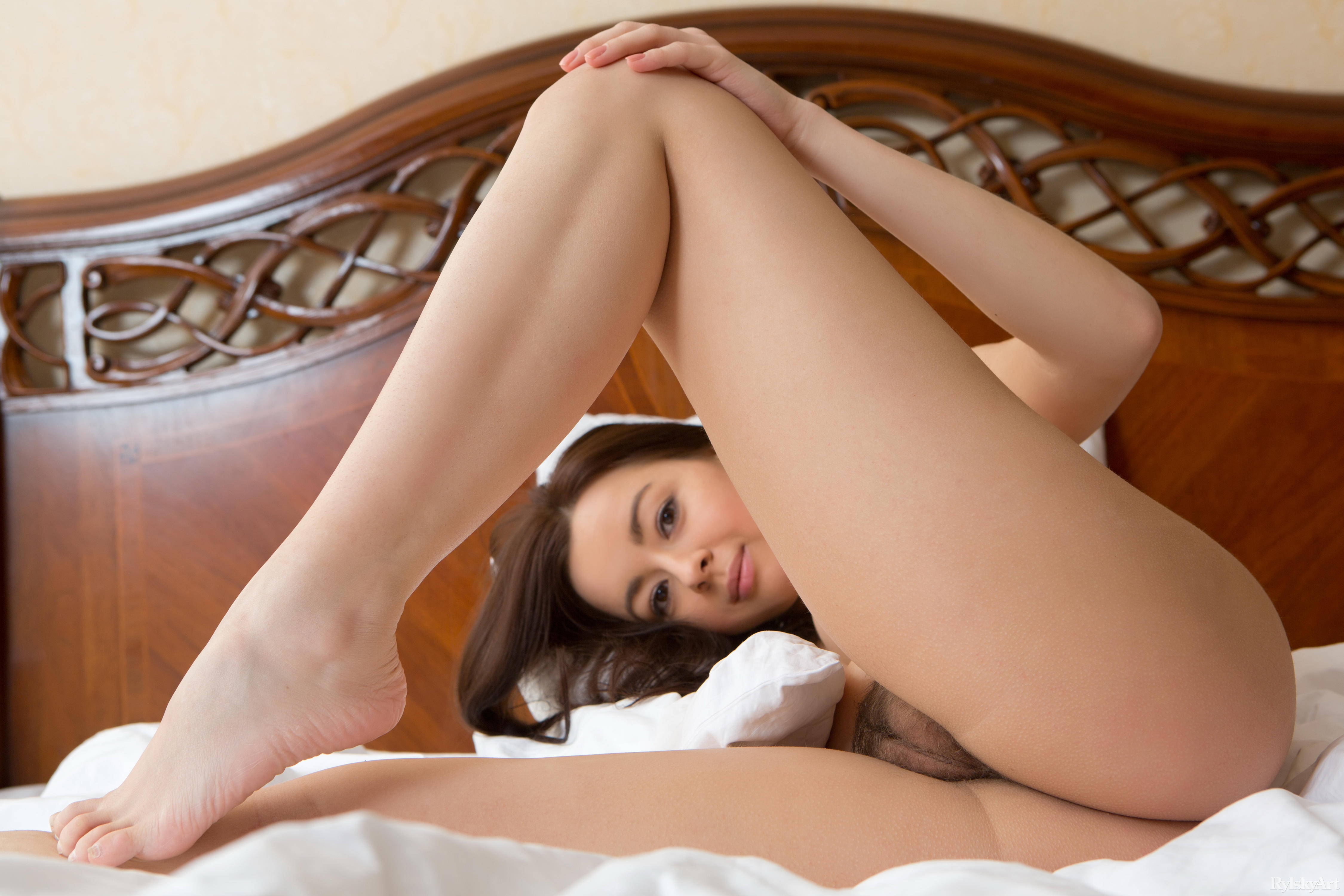 That necessary, hot nude brunettes spread on bed