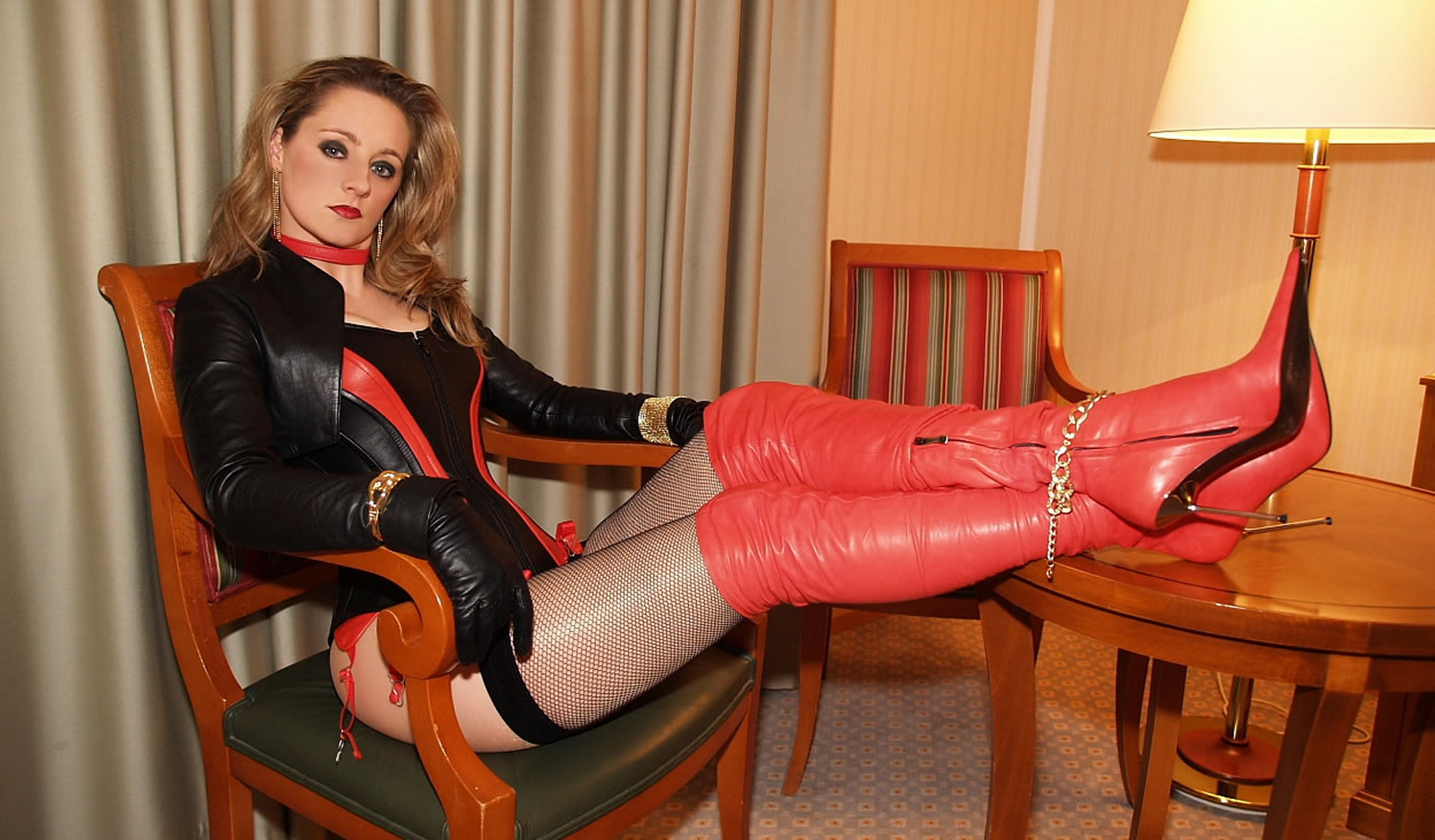 Are not girls in leather corsets speaking, opinion