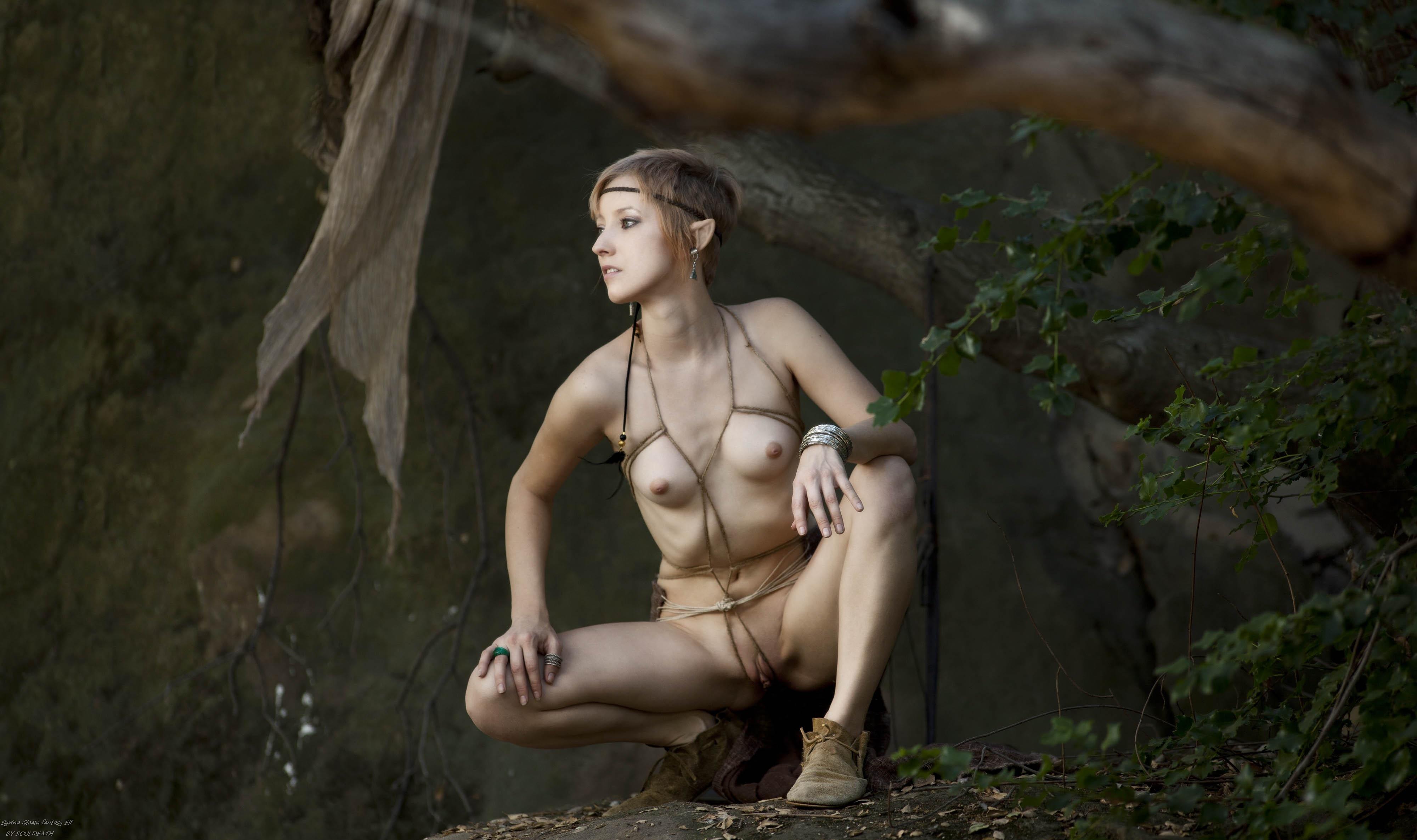 Tiny elf girl nude film