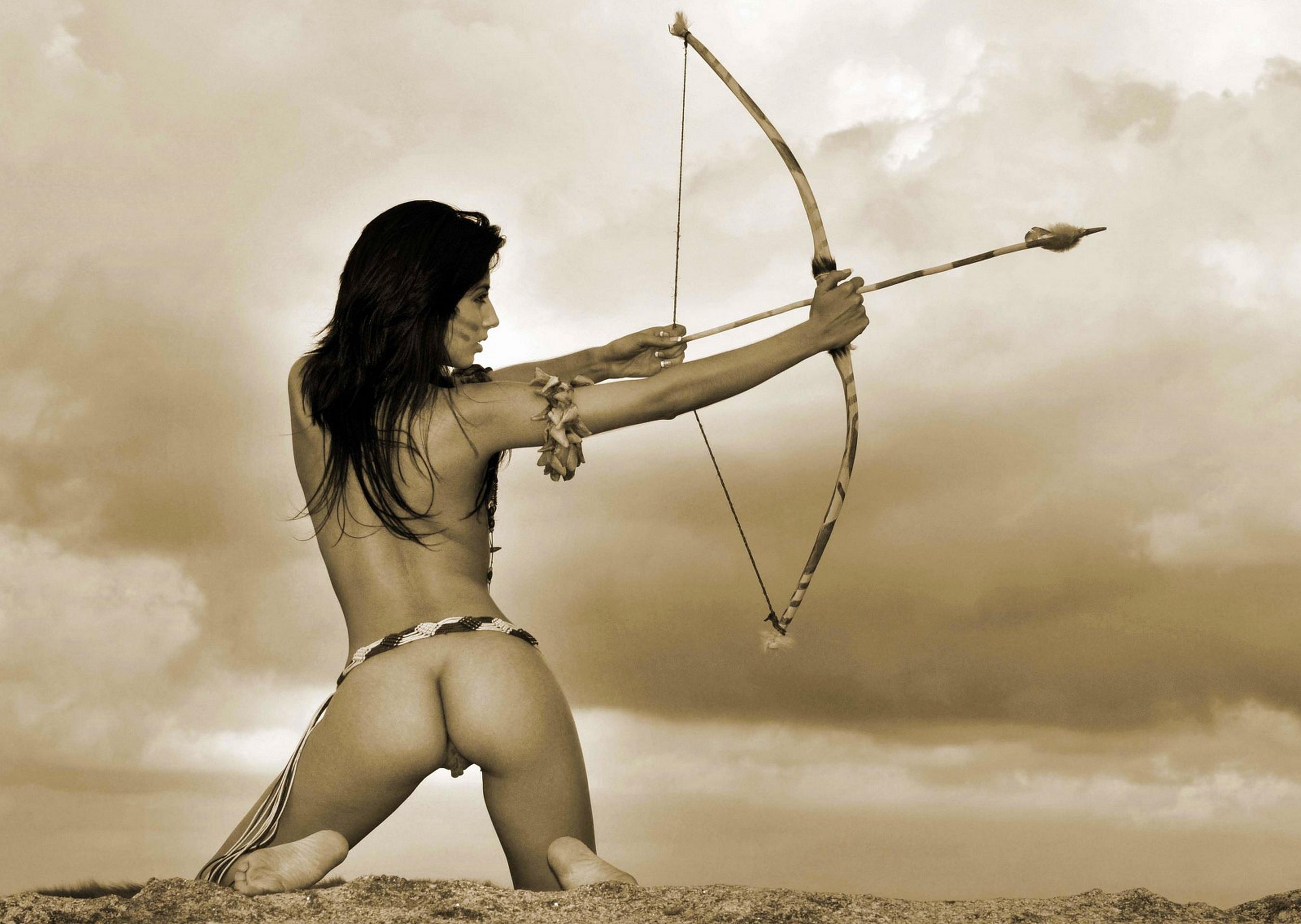 Idea asian nude archery