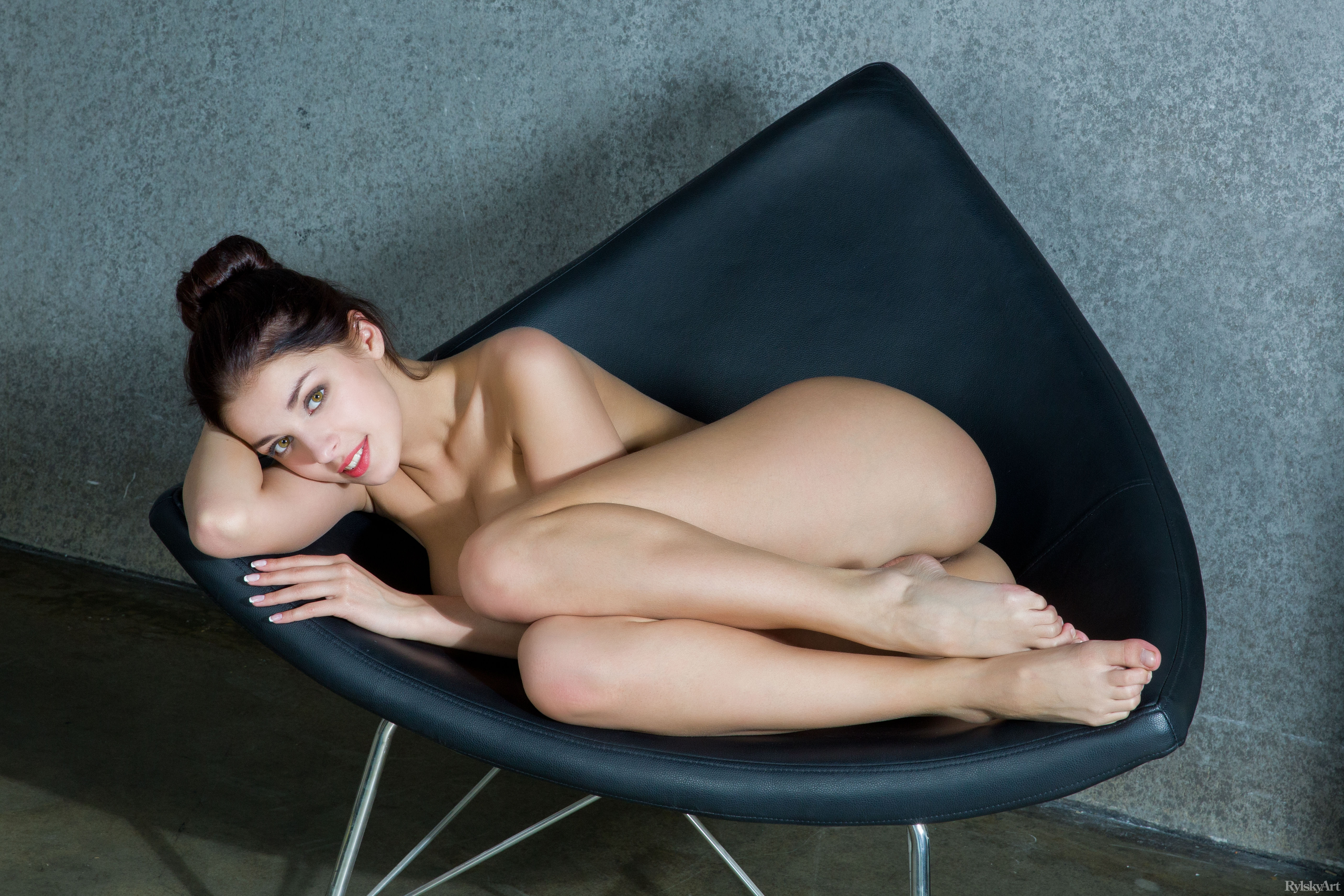 brunette completed sexy ukrainian