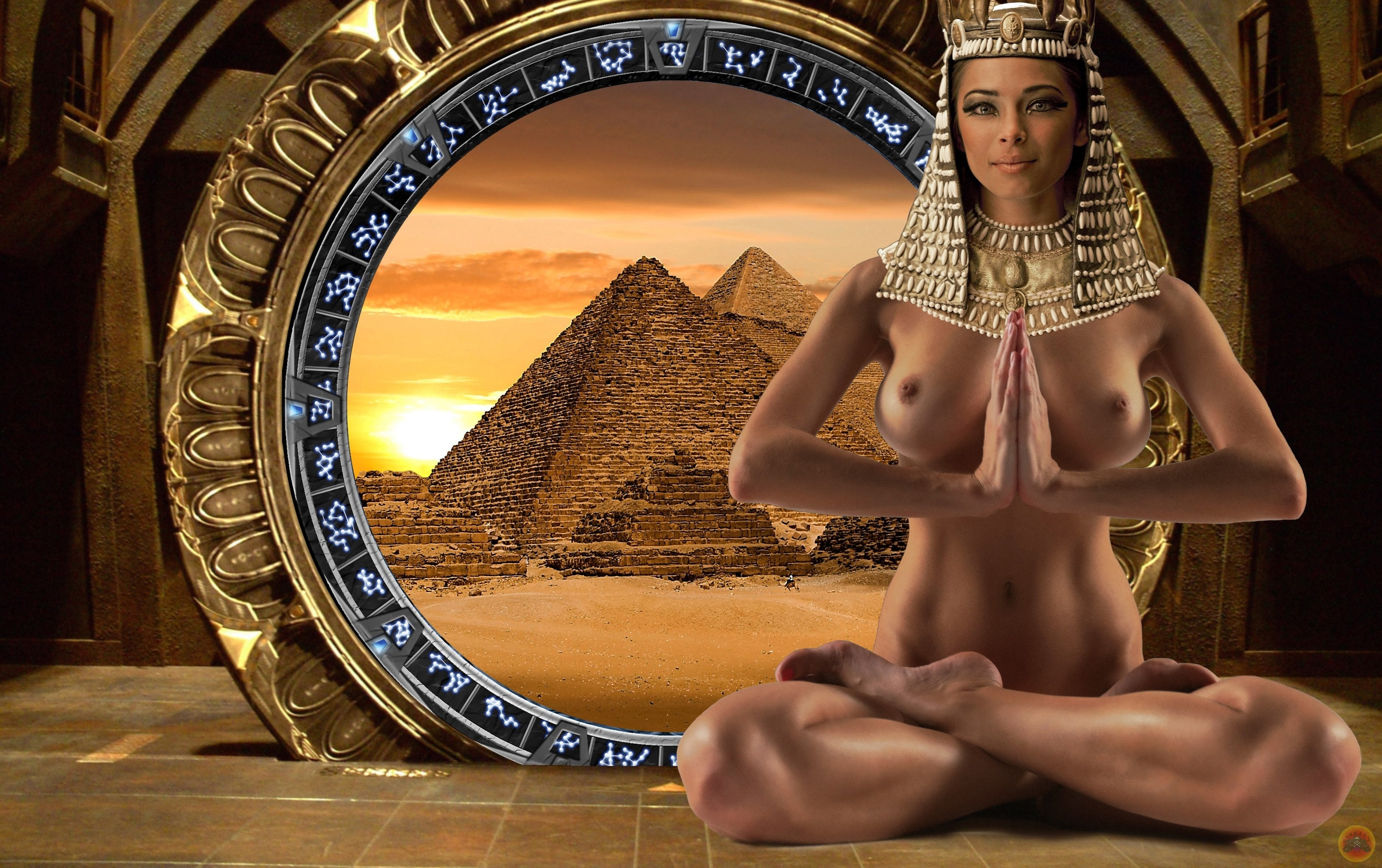 Ancient egyptian girl nude