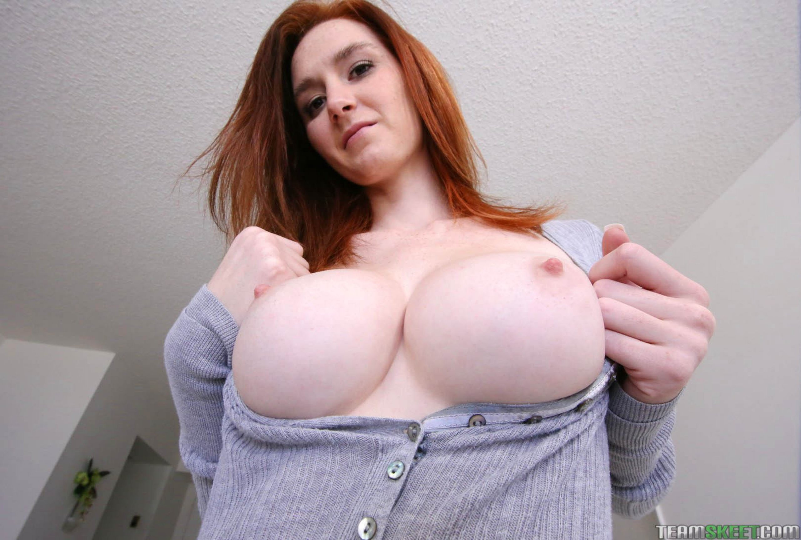 Wallpaper Dee Dee, Dee Dee Lynn, Redhead, Natural -5645