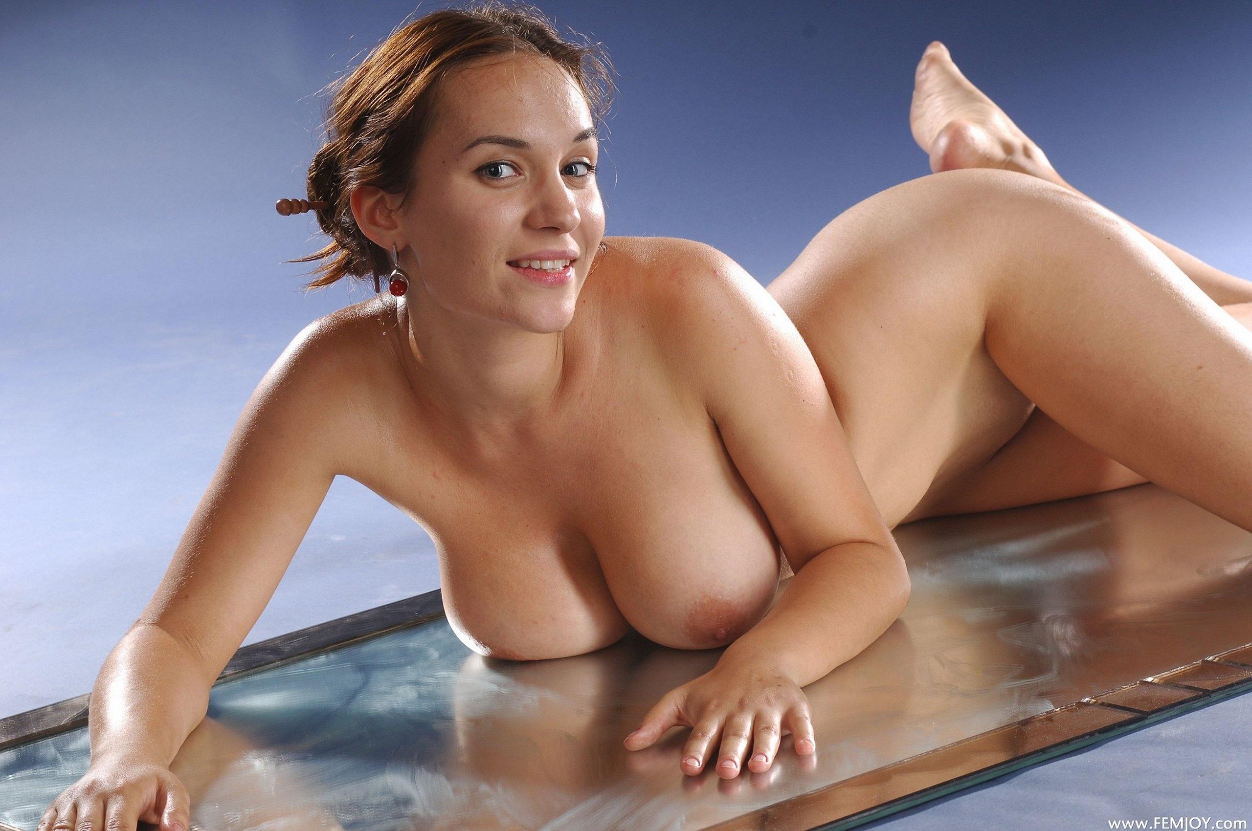 Wallpaper Chesney, Brunette, Nude, Naked, Beauty, Big -4305