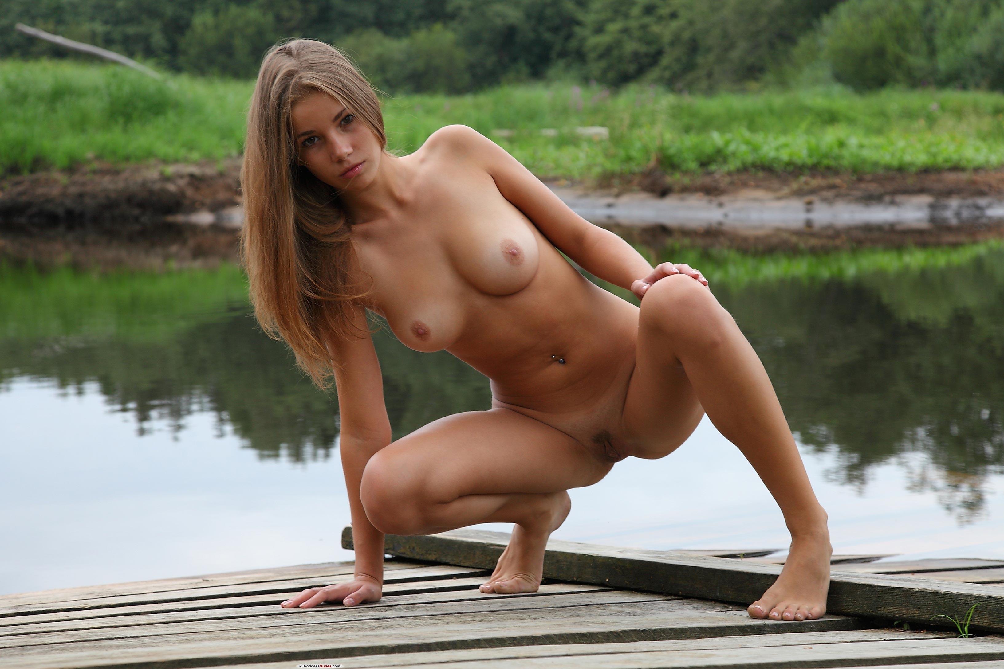 Delightful Cute skinny brunette nude valuable