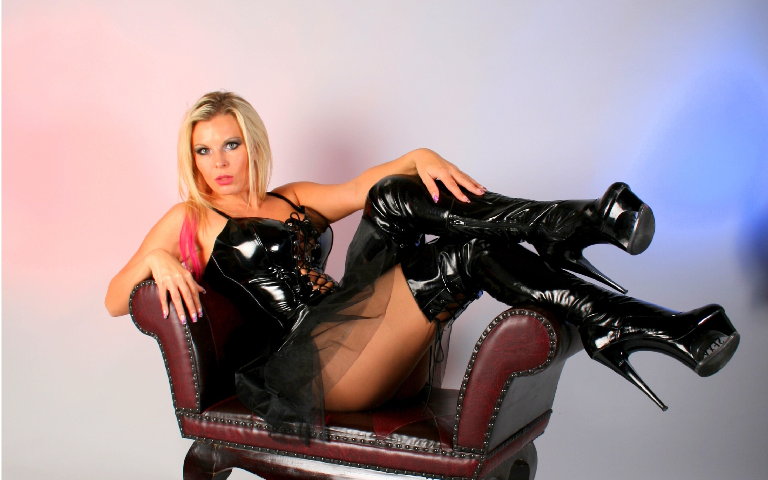 Wallpaper Aische, Blonde, German, Amateur, Model, Cam Girl -9067