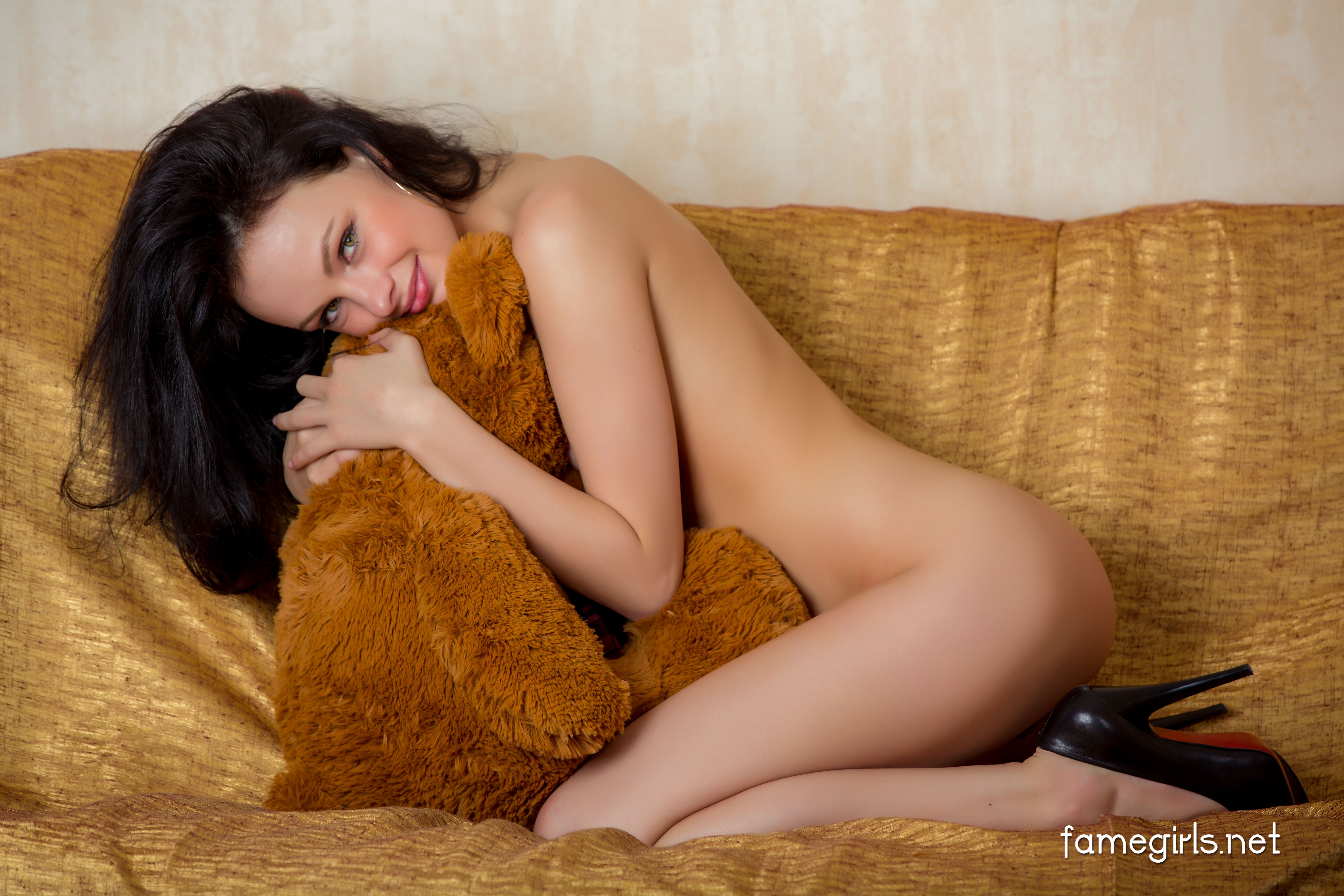 Teddy bear girl with pigtails fucked 2