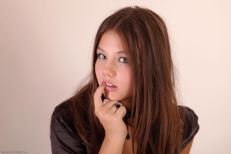 ... » Kleofia, brunette, sexy girl, young model, sweet, cute wallpaper