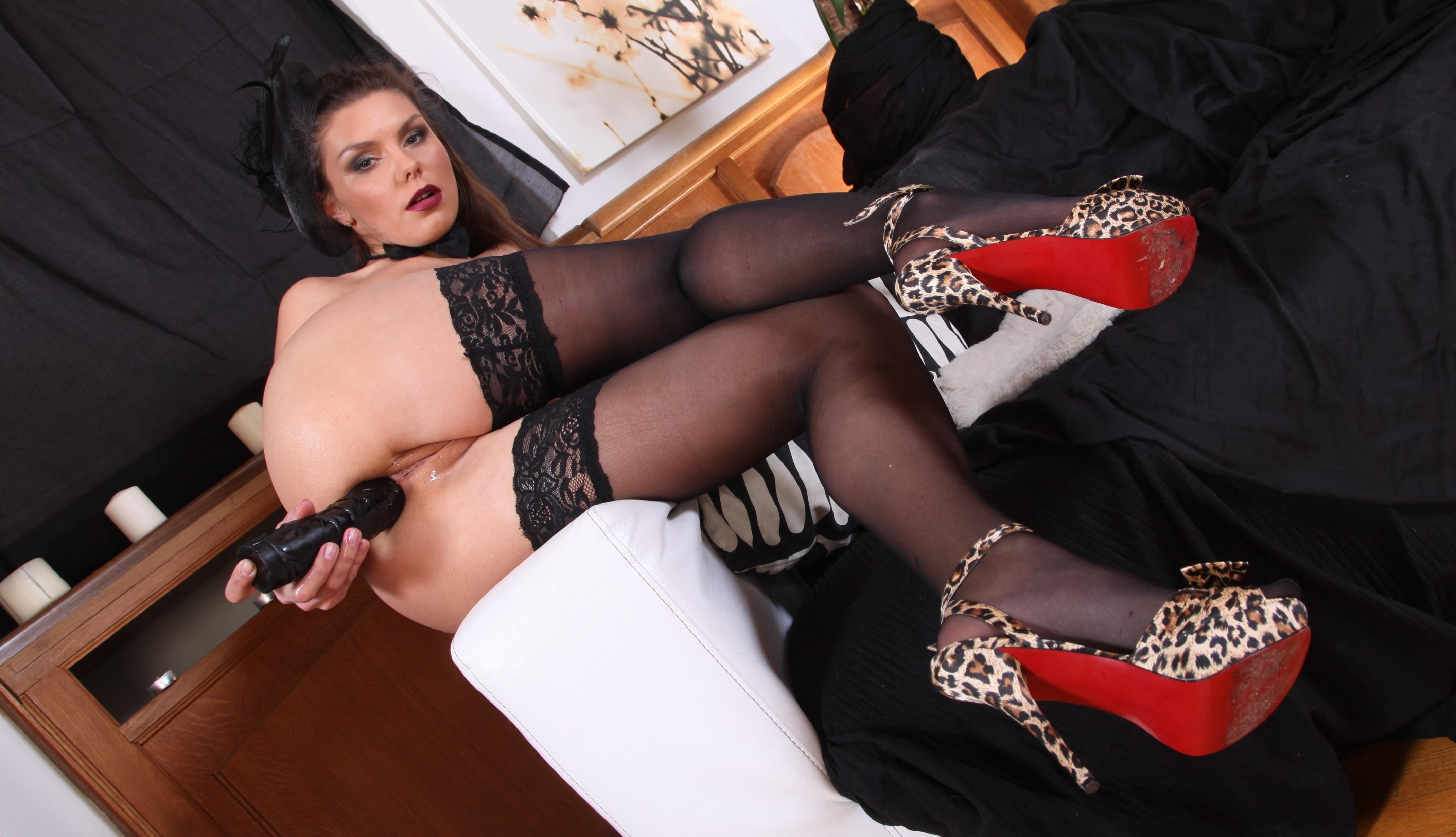 Anal porn high heels