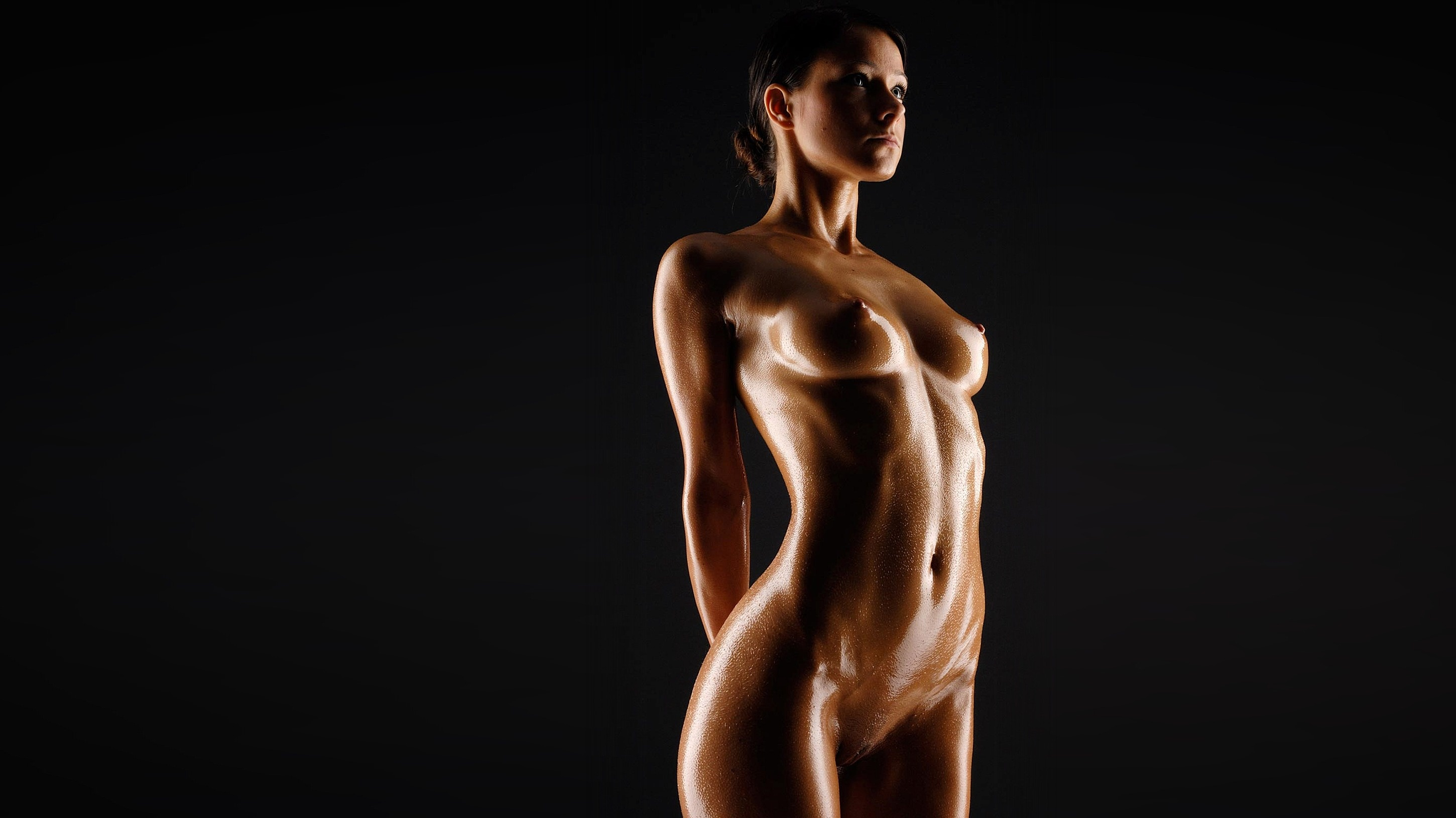 Wallpaper Melisa Mendiny, Melisa, Mika Walls, Nude, Light -4160