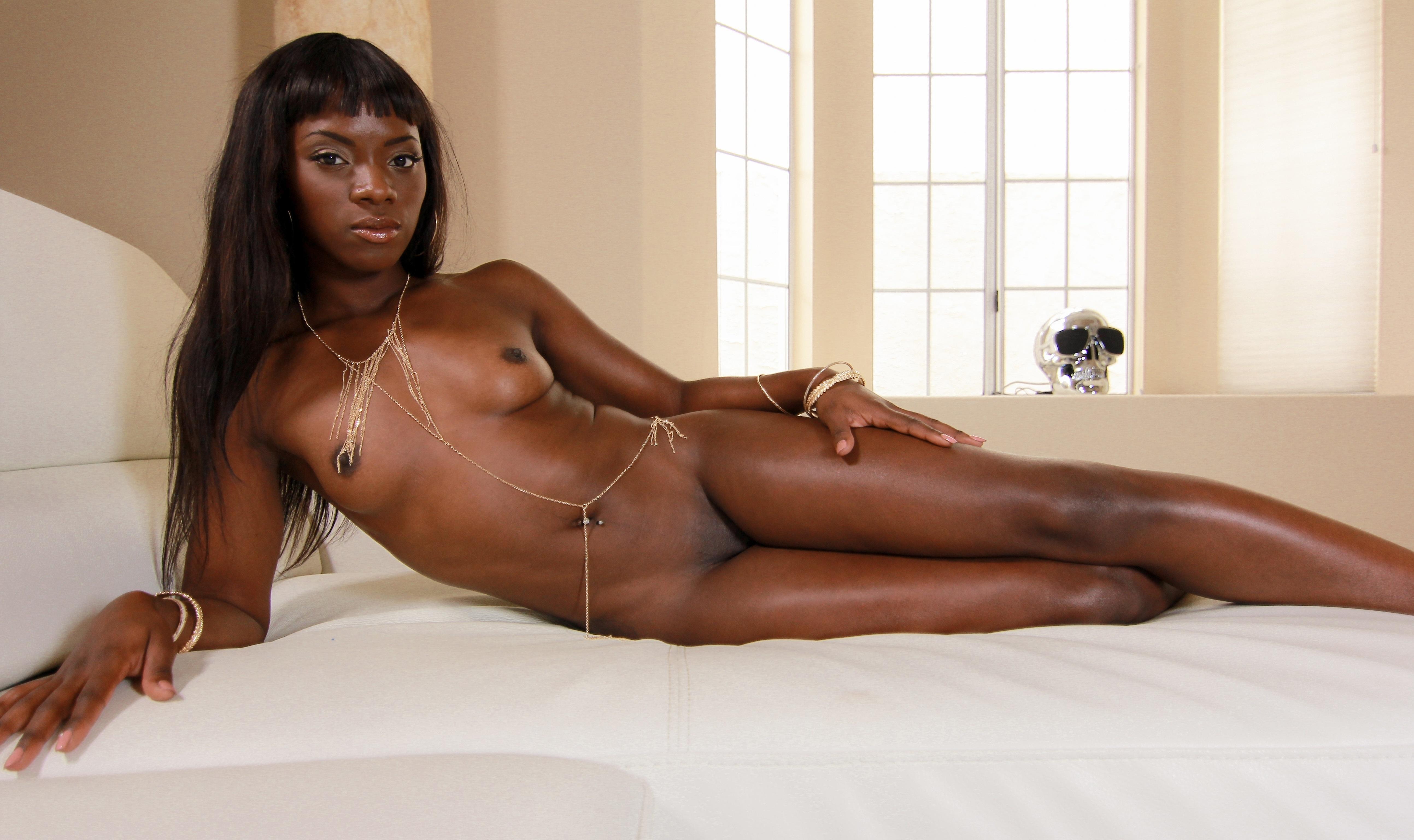 Beautiful young exotic girl stock photo