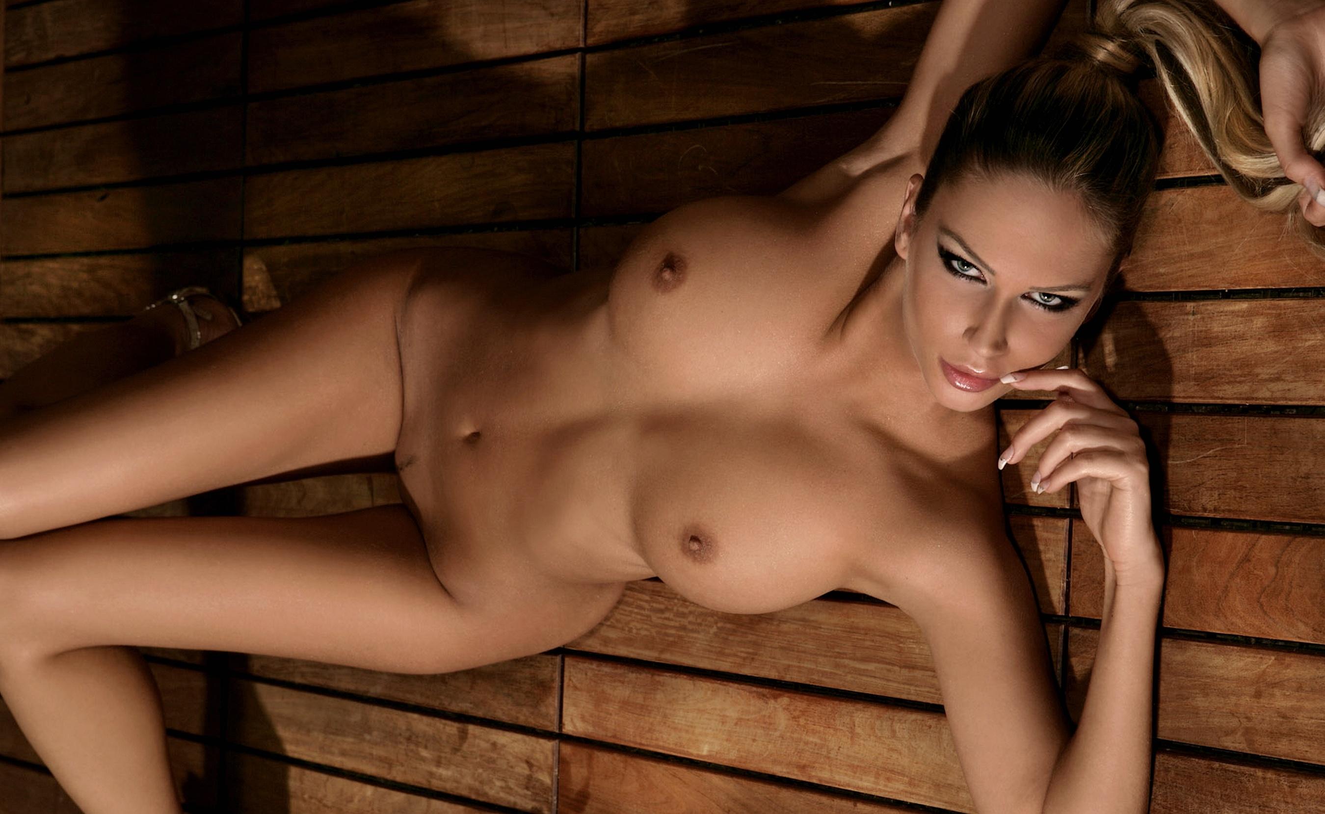 Wallpaper andrea jarova, playmate, nude, model, thin, big tits ...