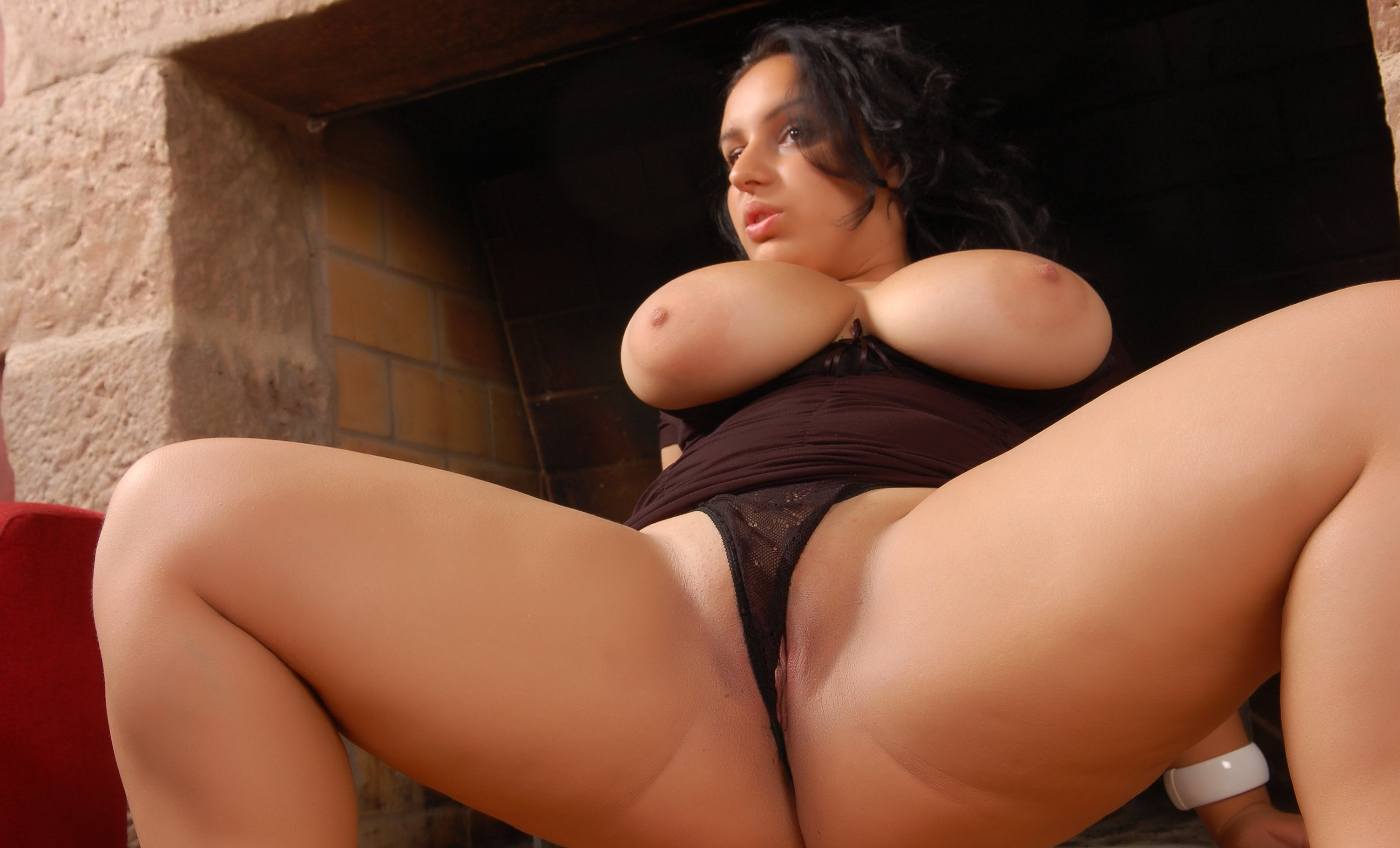 Hot brunette ad mature italian
