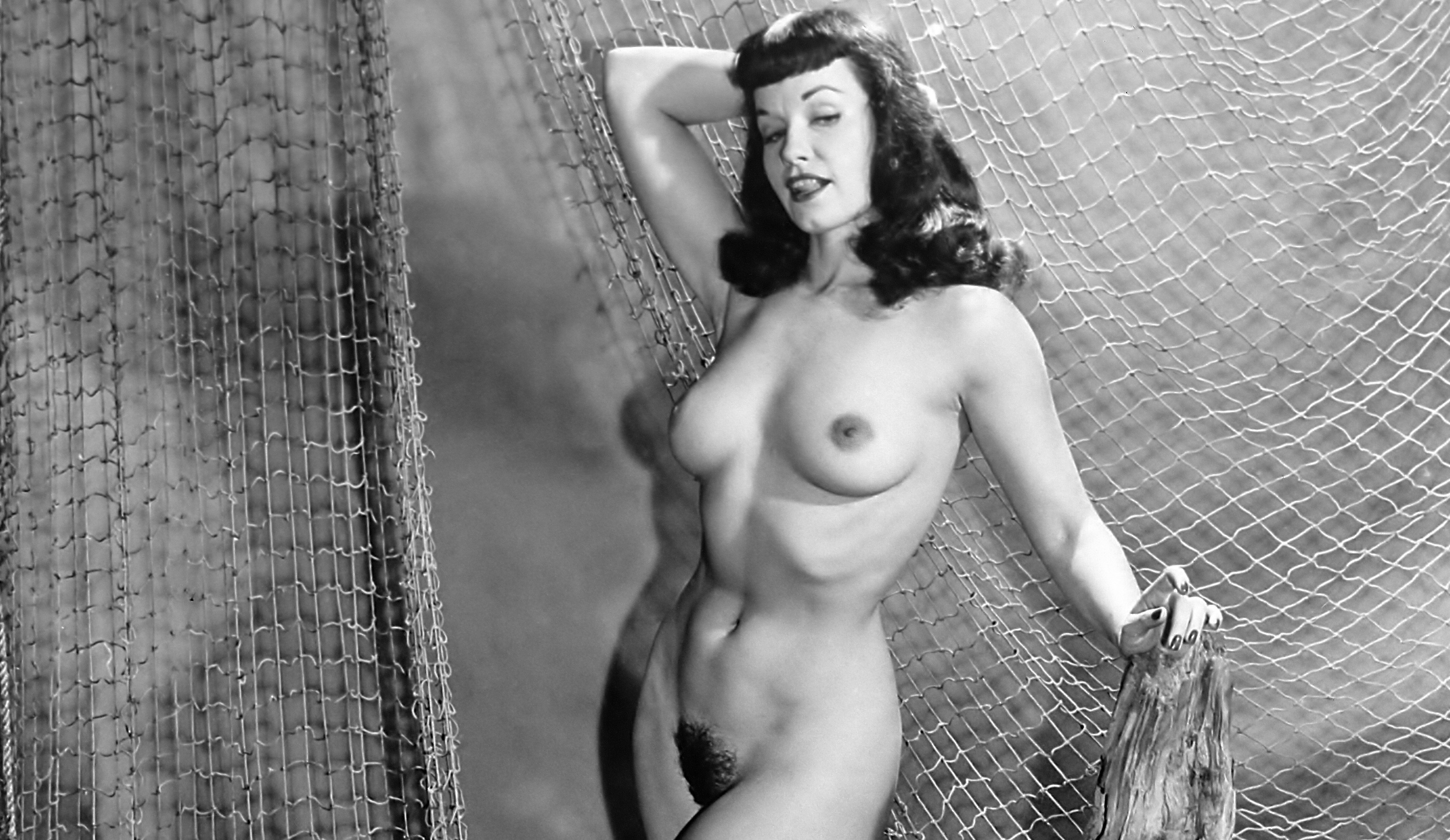 Rare bettie page nude sorry, that