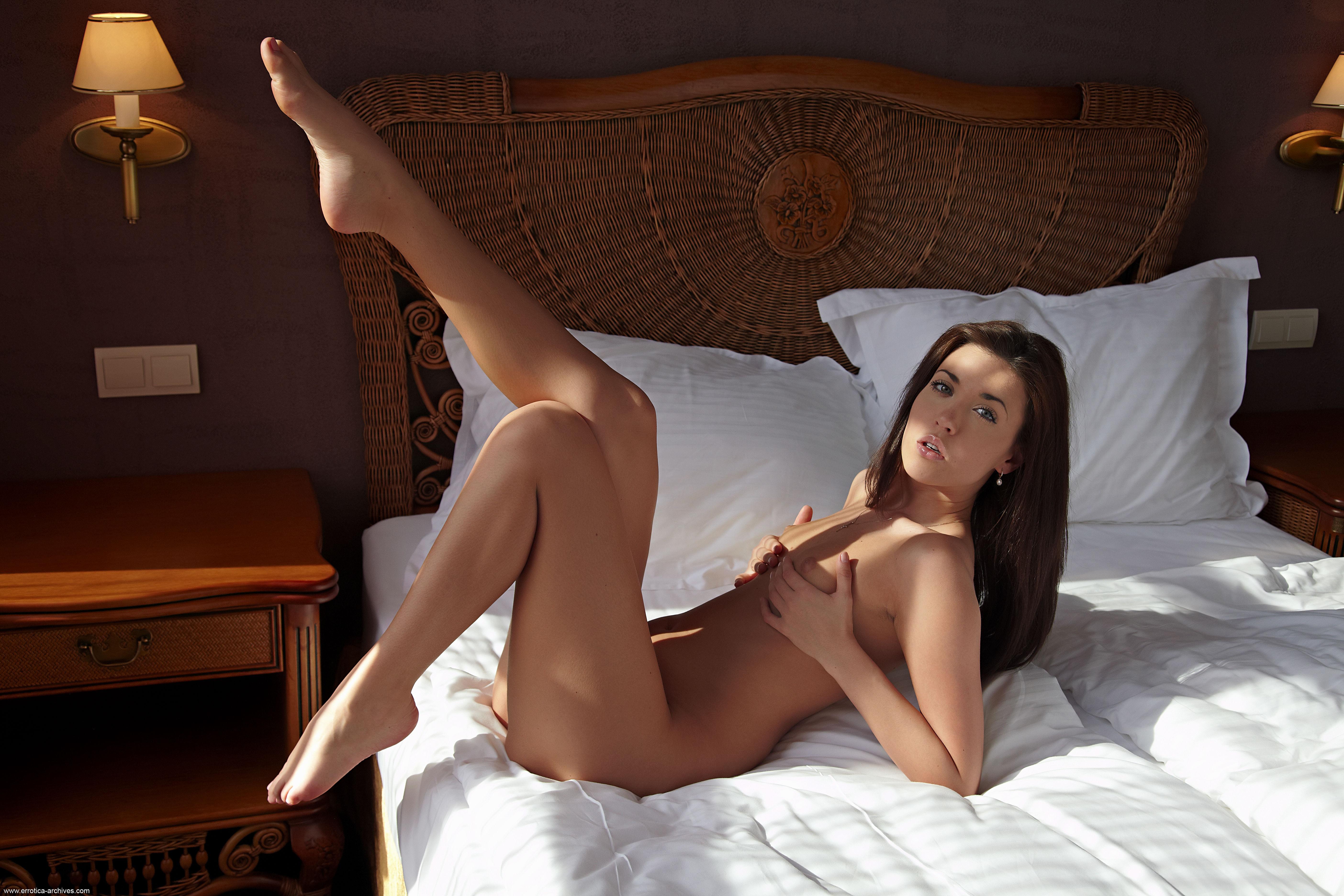 Wallpaper Malvina, Brunette, Sexy Girl, Adult Model, Nude -7652